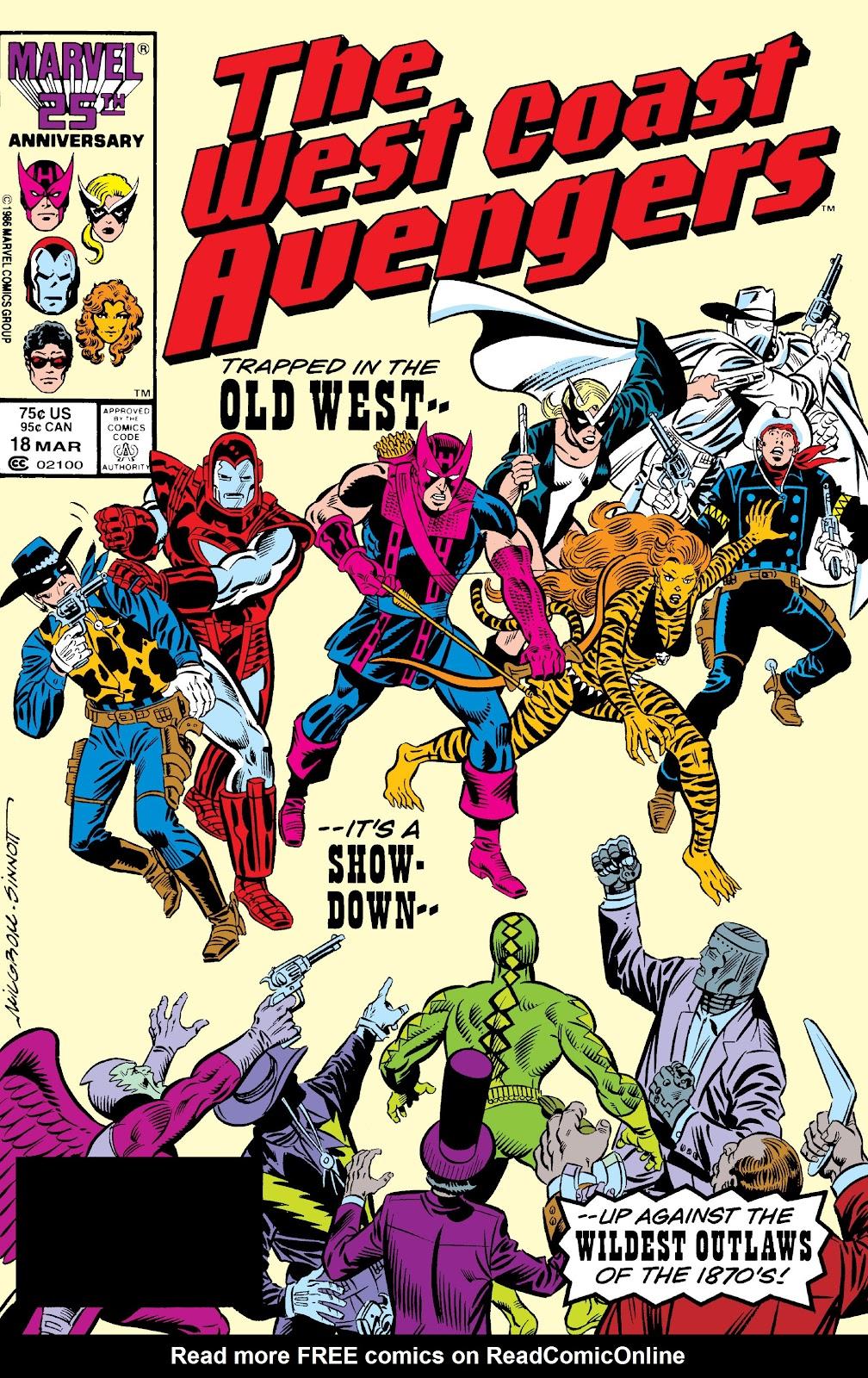 West Coast Avengers (1985) 18 Page 1