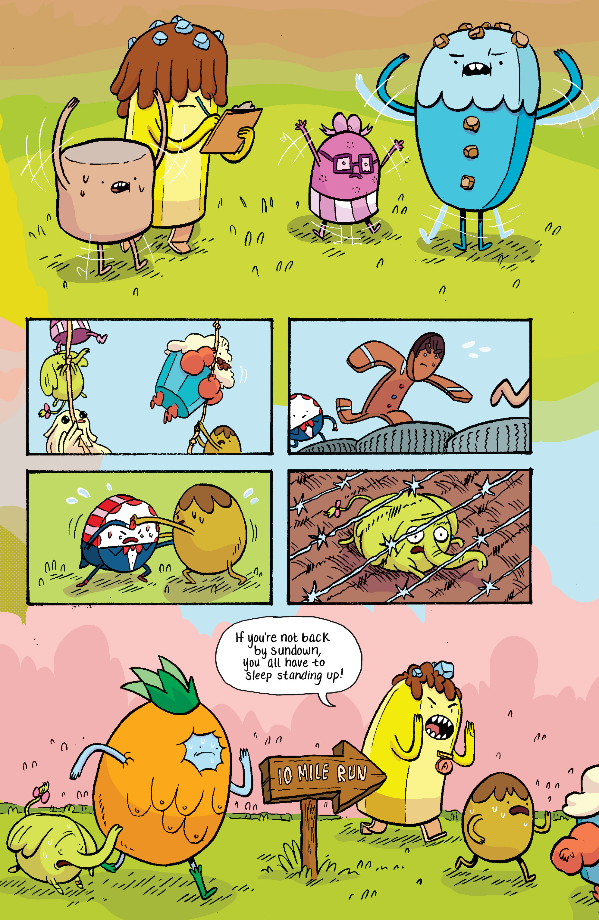 Read online Adventure Time: Banana Guard Academ comic -  Issue #2 - 15