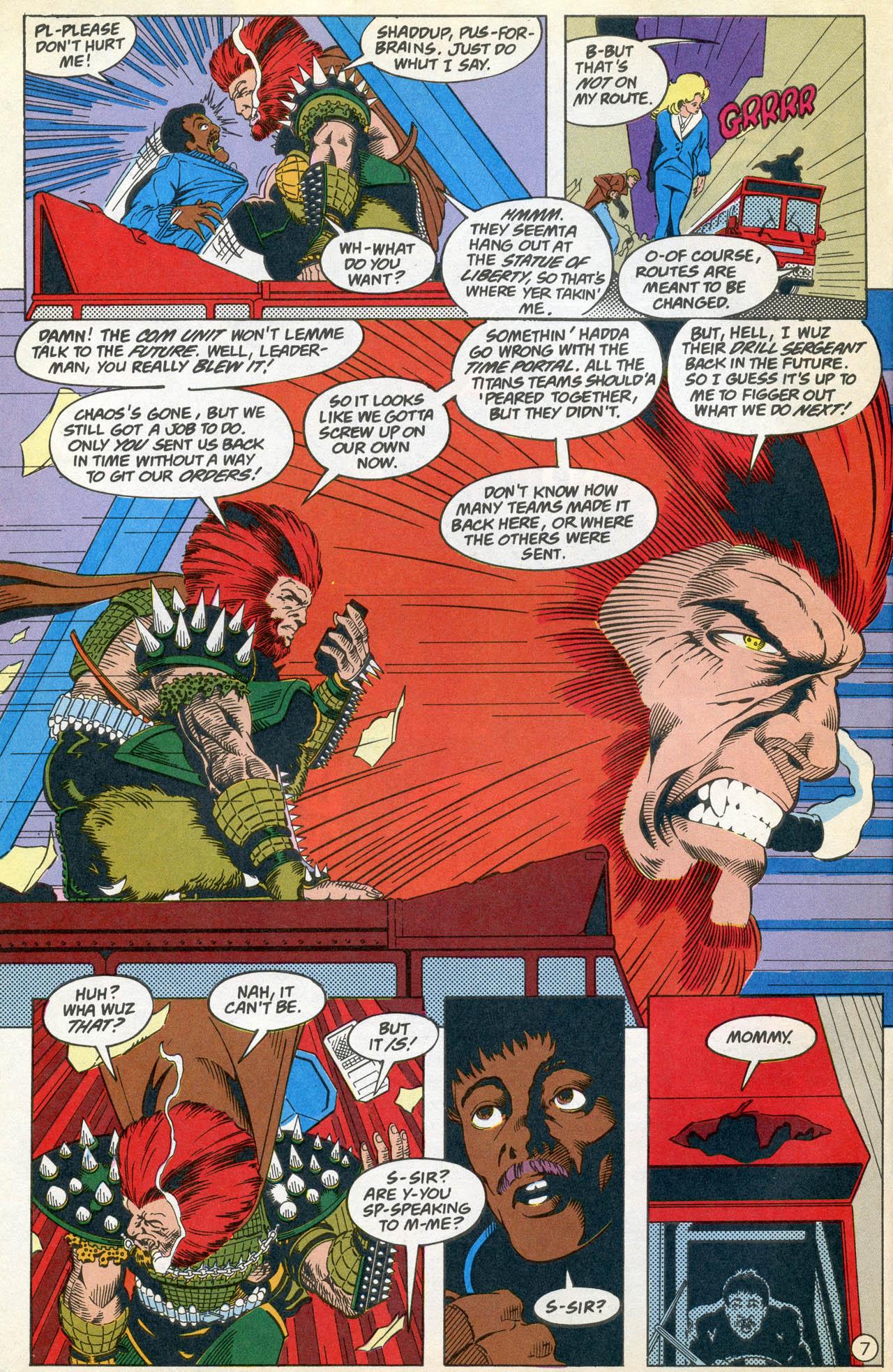 Read online Team Titans comic -  Issue #4 - 10