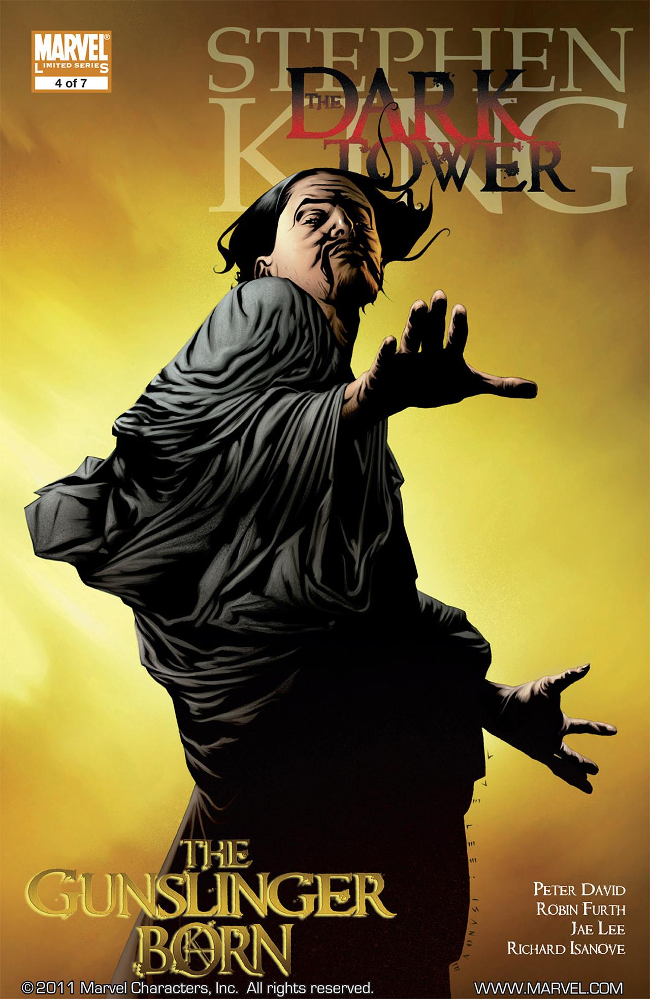 Dark Tower: The Gunslinger Born 4 Page 1