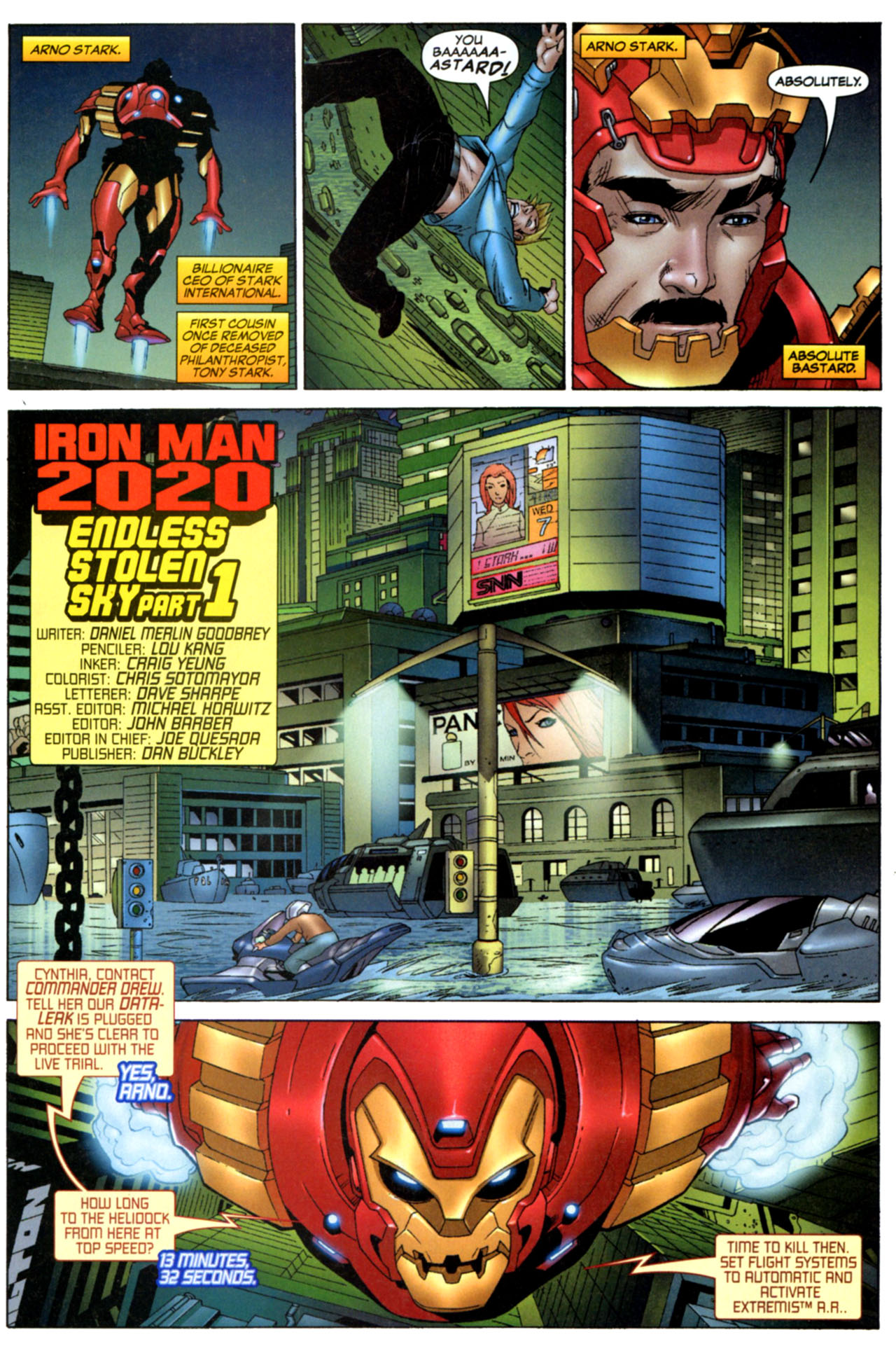 Read online Astonishing Tales (2009) comic -  Issue #1 - 13