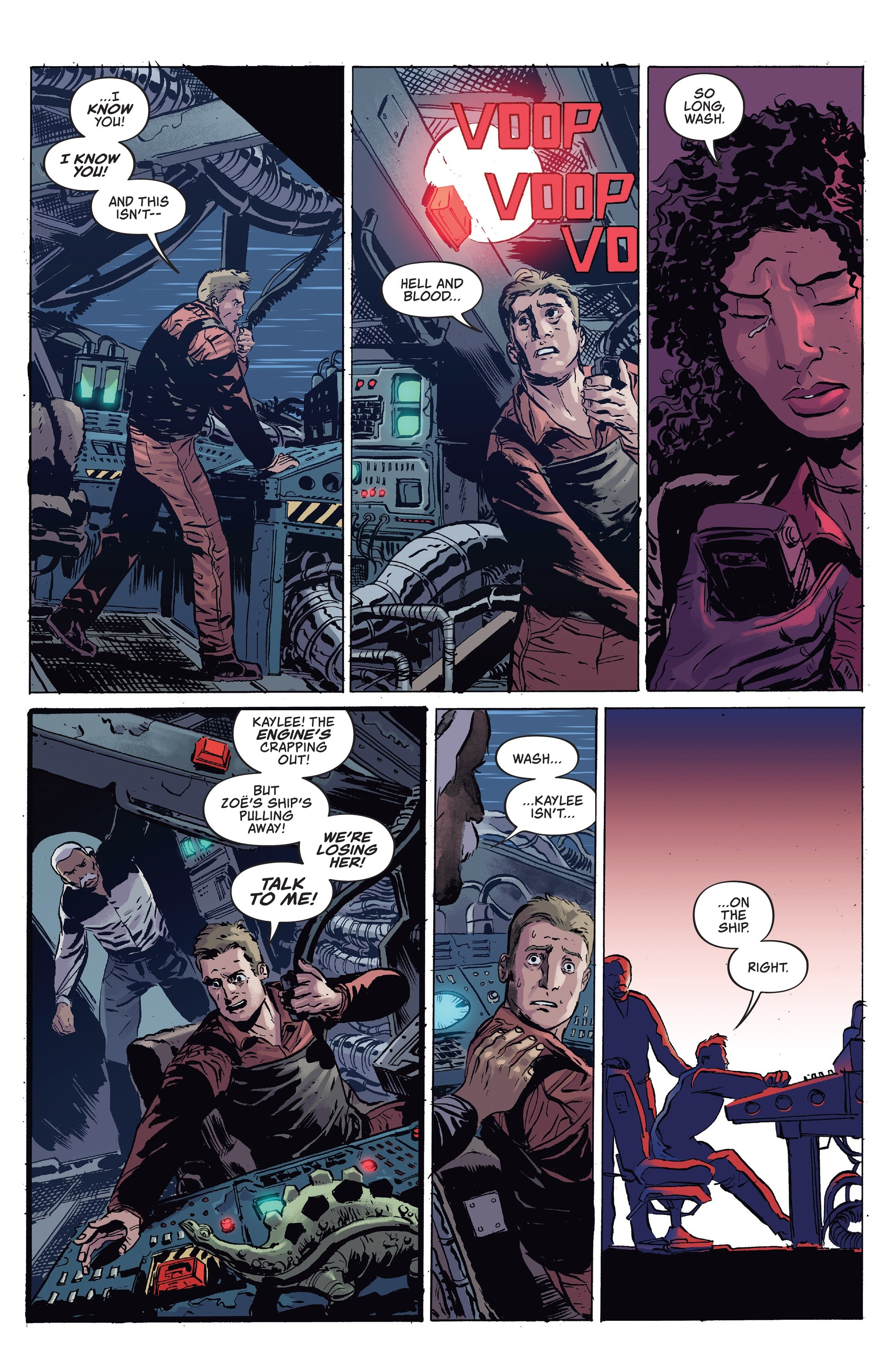 Read online Firefly comic -  Issue #7 - 9