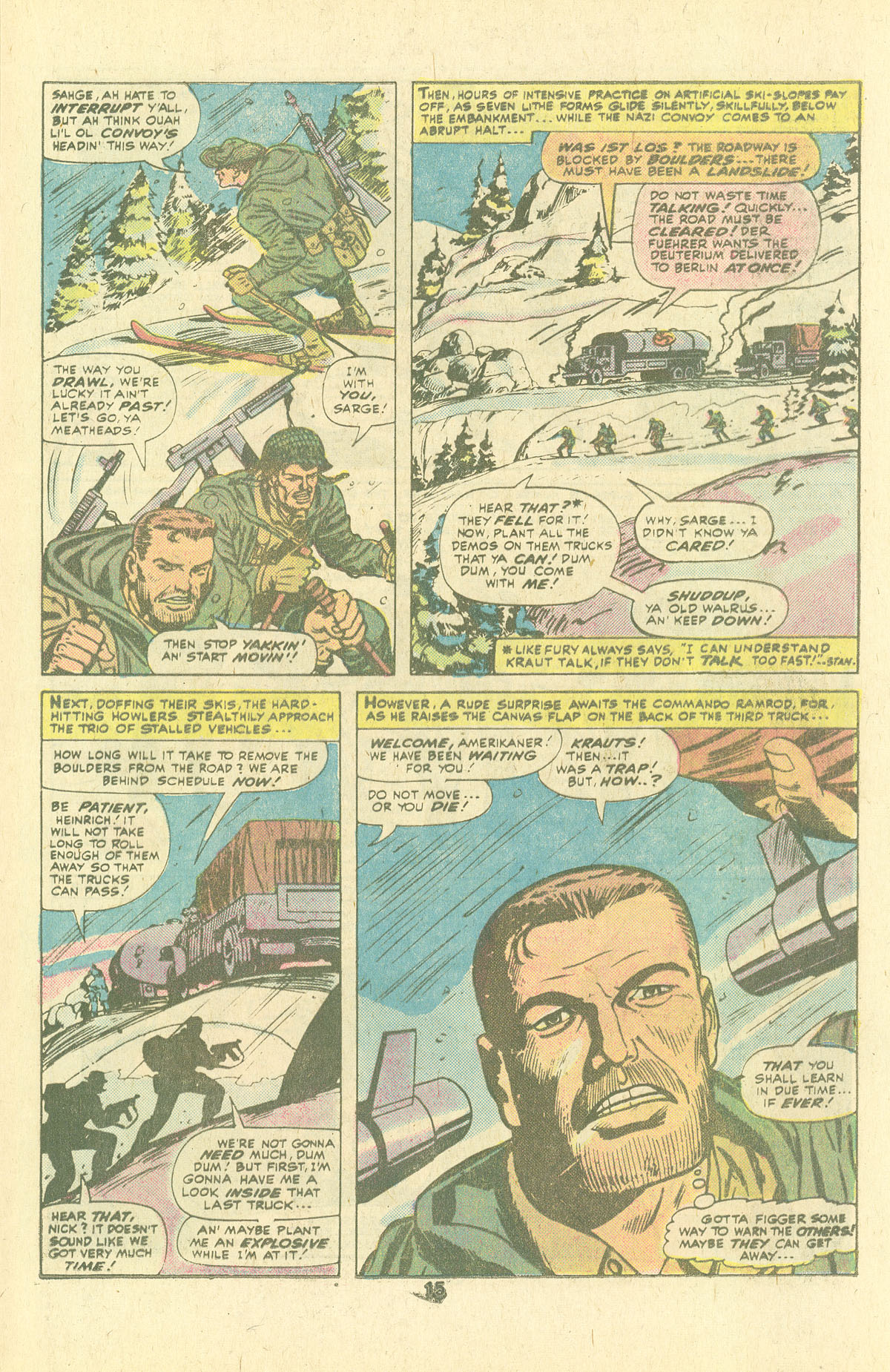 Read online Sgt. Fury comic -  Issue #134 - 17