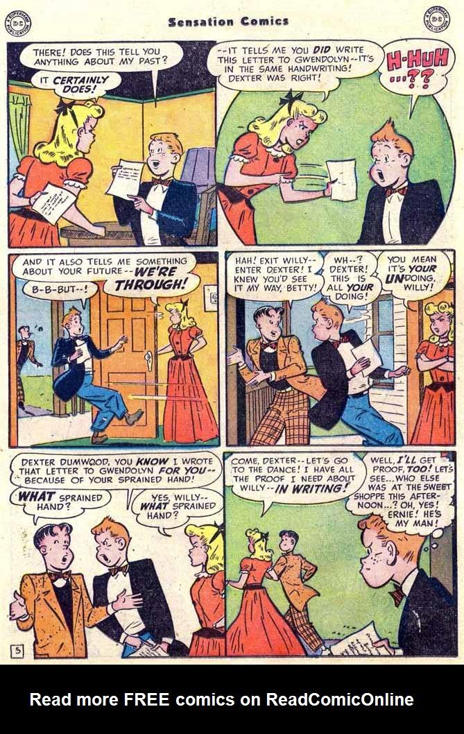 Read online Sensation (Mystery) Comics comic -  Issue #89 - 31