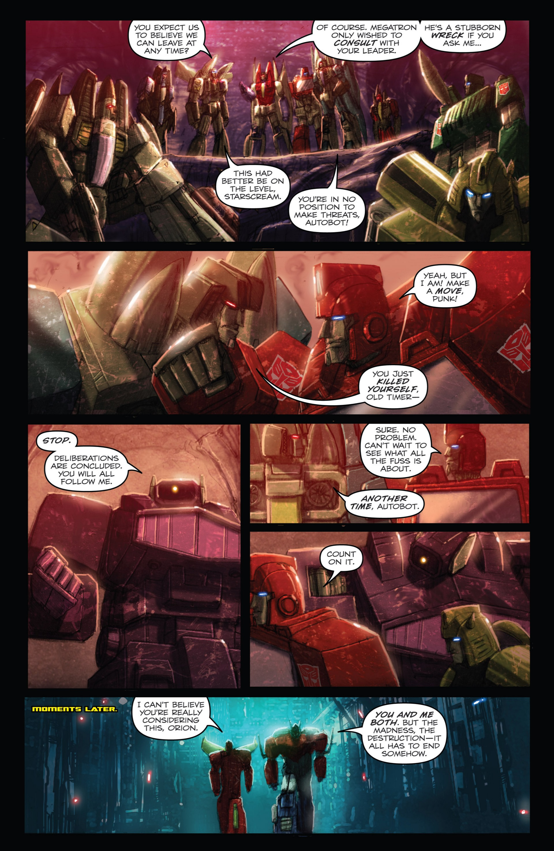 Read online Transformers: Autocracy comic -  Issue # Full - 68