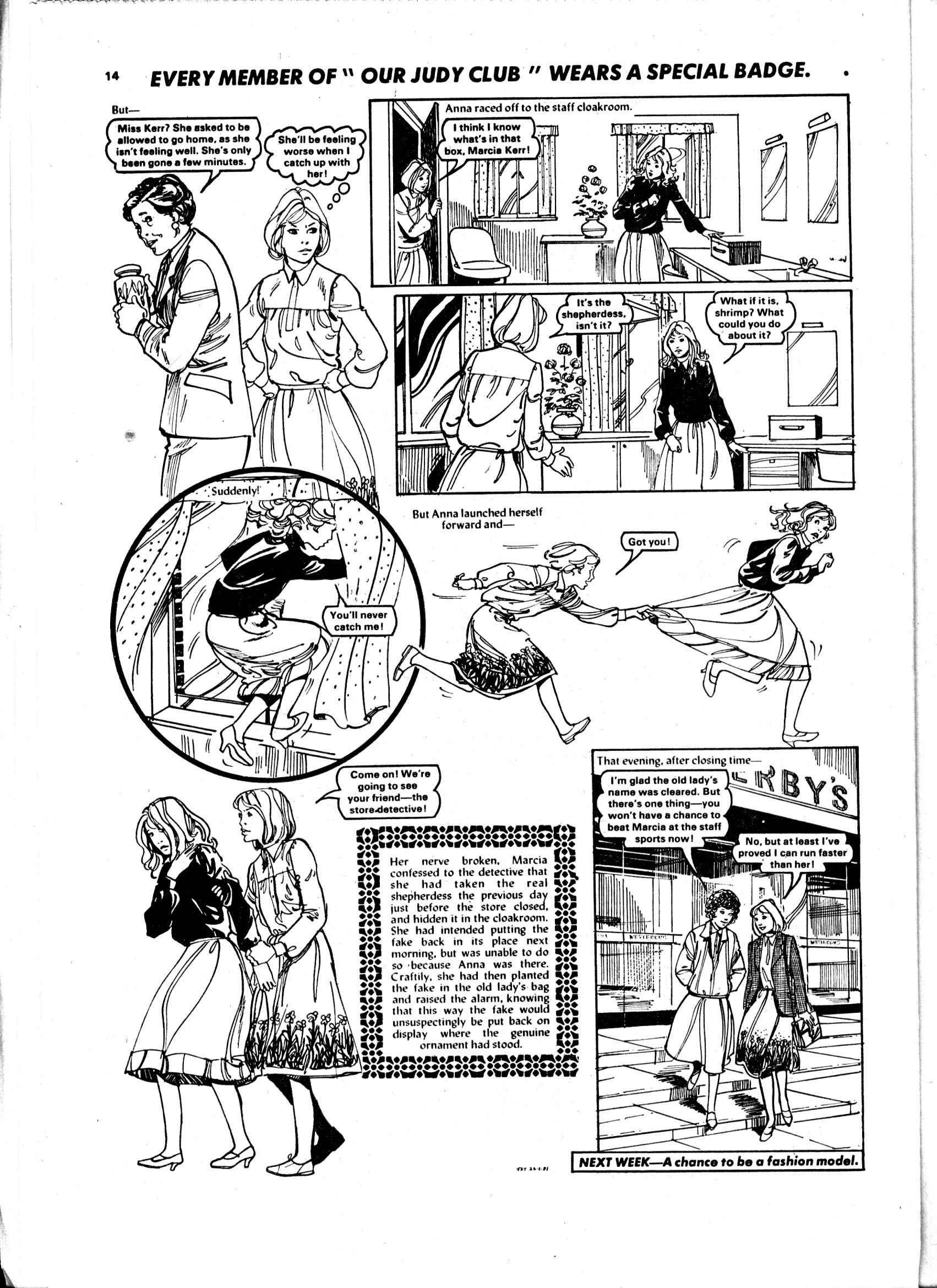 Read online Judy comic -  Issue #98 - 14