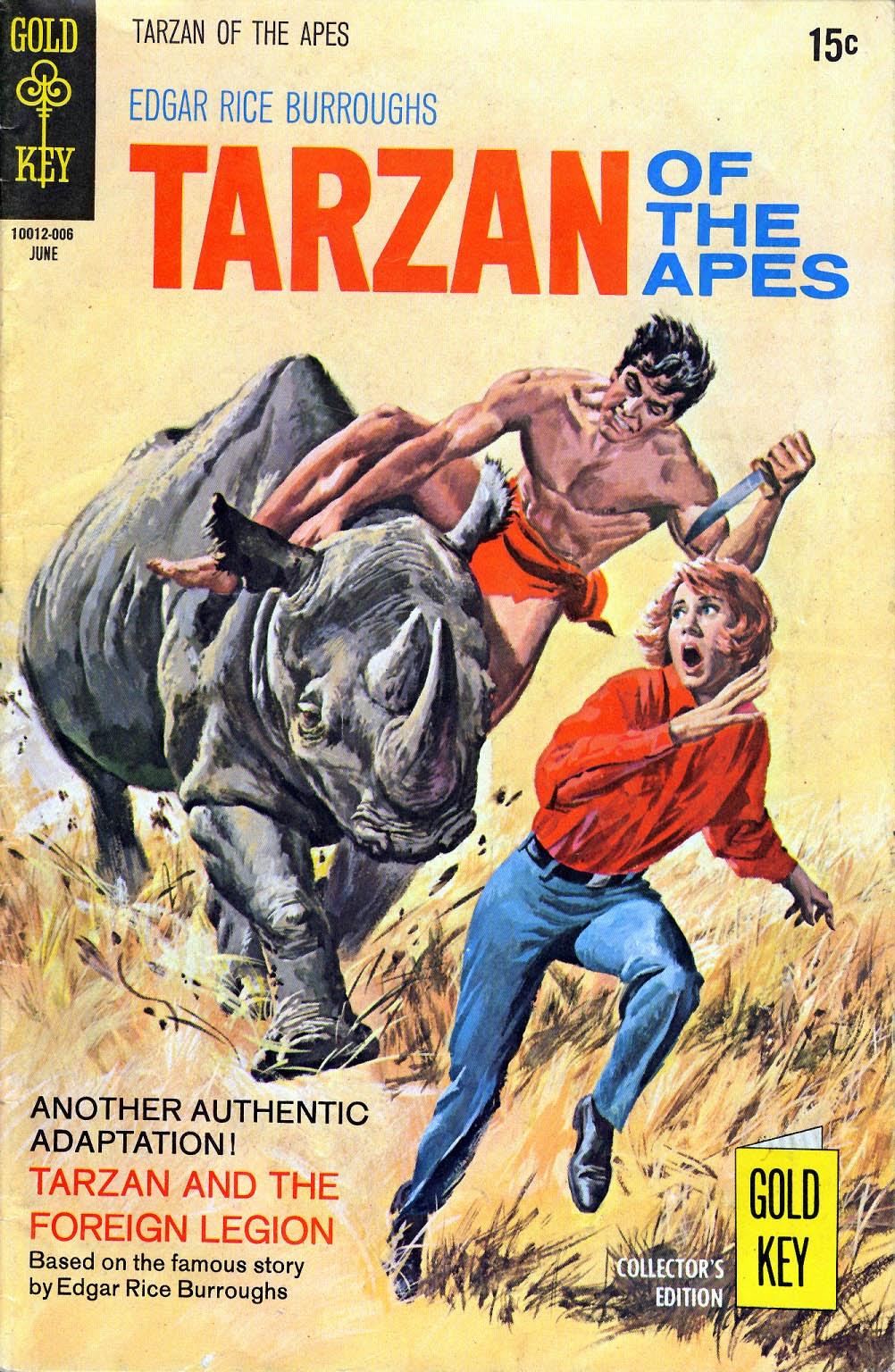 Tarzan (1962) issue 192 - Page 1