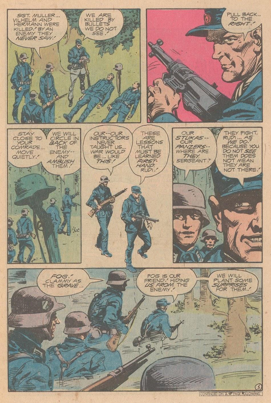 Read online Sgt. Rock comic -  Issue #346 - 6