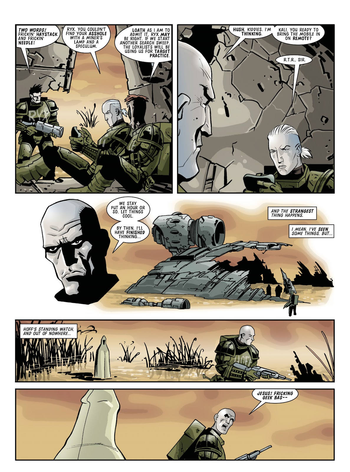 Judge Dredd Megazine (Vol. 5) Issue #381 #180 - English 99