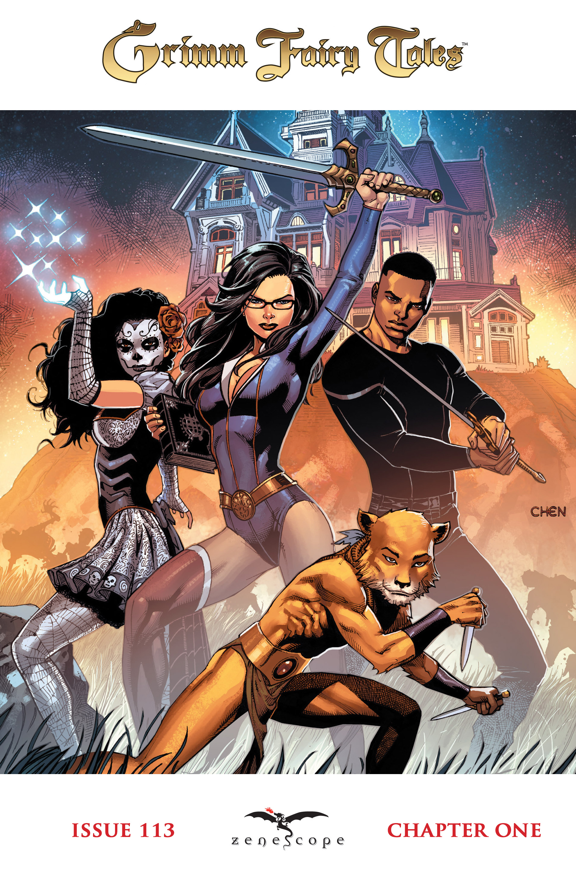 Read online Grimm Fairy Tales: Arcane Acre comic -  Issue # TPB 3 - 6