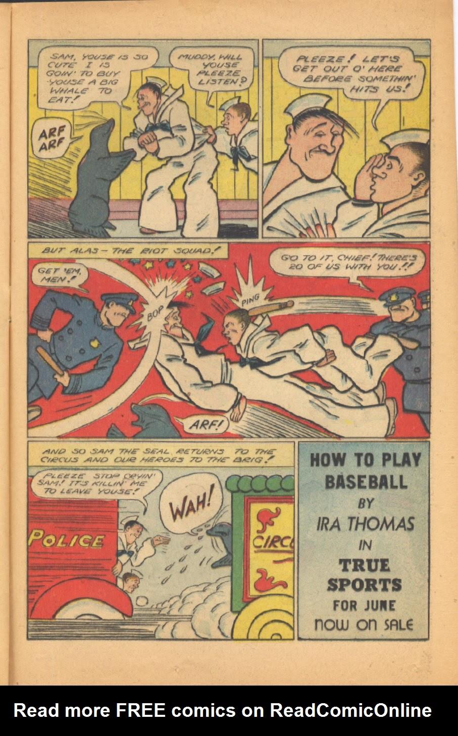 Read online Super-Magician Comics comic -  Issue #38 - 33
