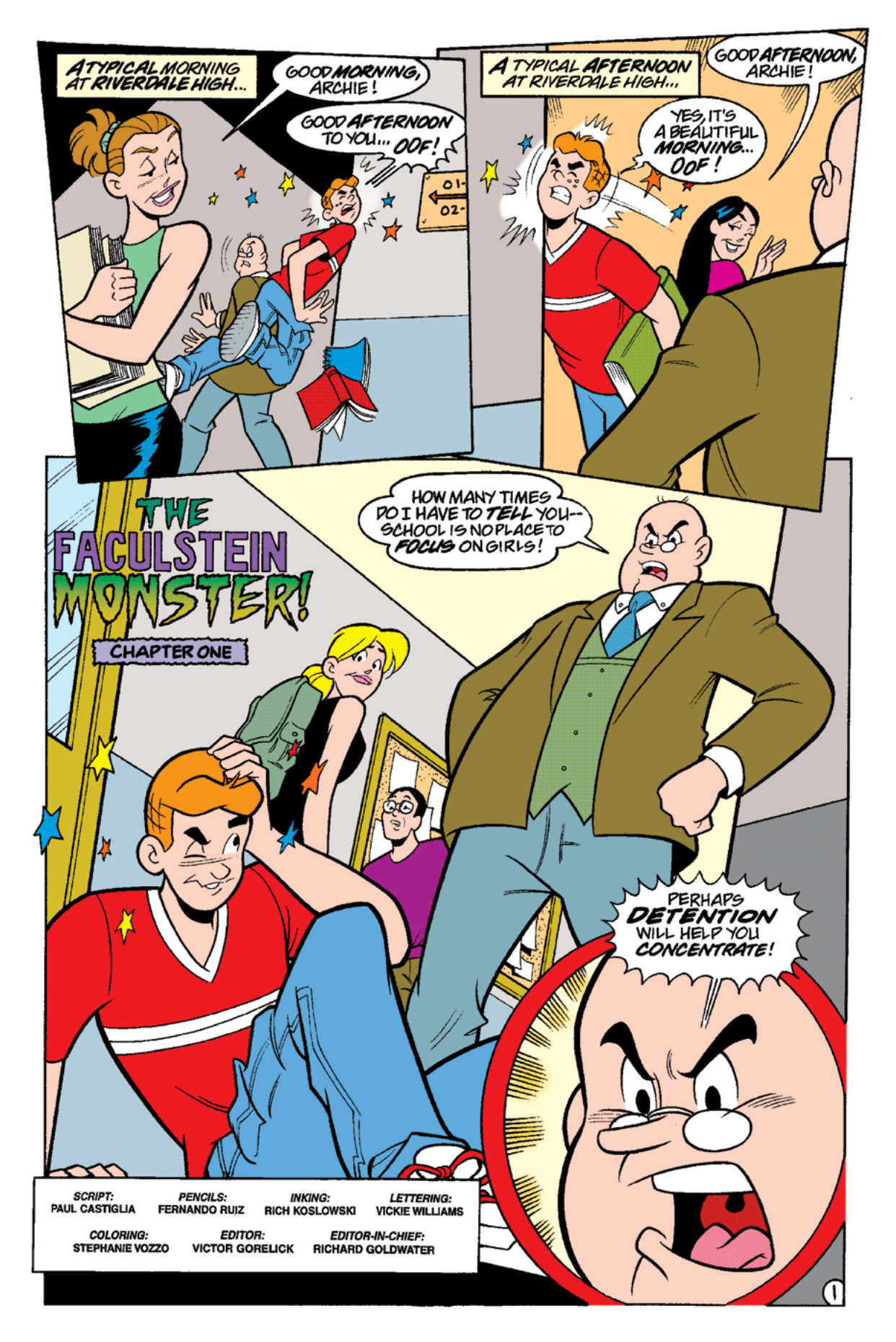 Read online Archie's Weird Mysteries comic -  Issue #16 - 3