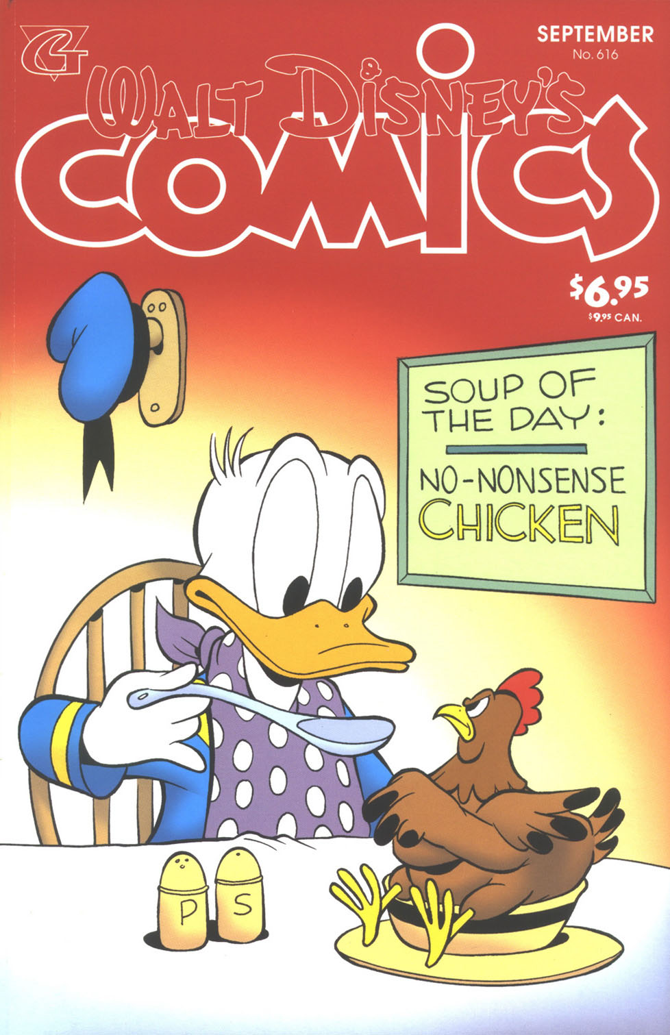 Walt Disney's Comics and Stories issue 616 - Page 1