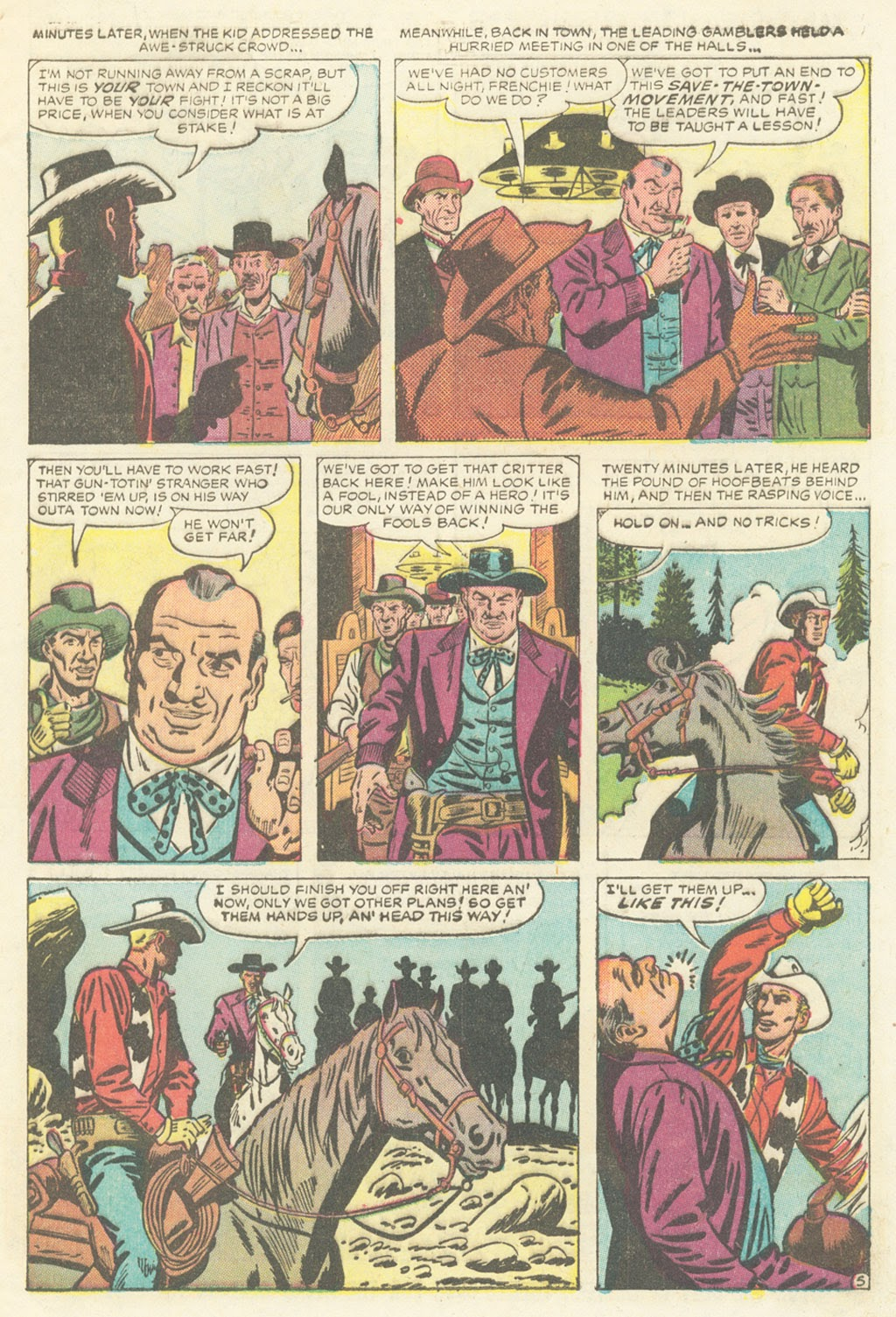 Kid Colt Outlaw issue 52 - Page 7