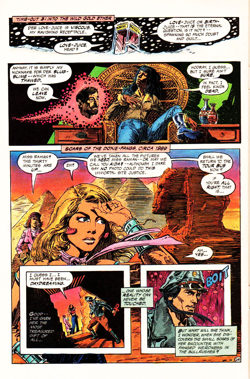 Read online Aztec Ace comic -  Issue #4 - 24