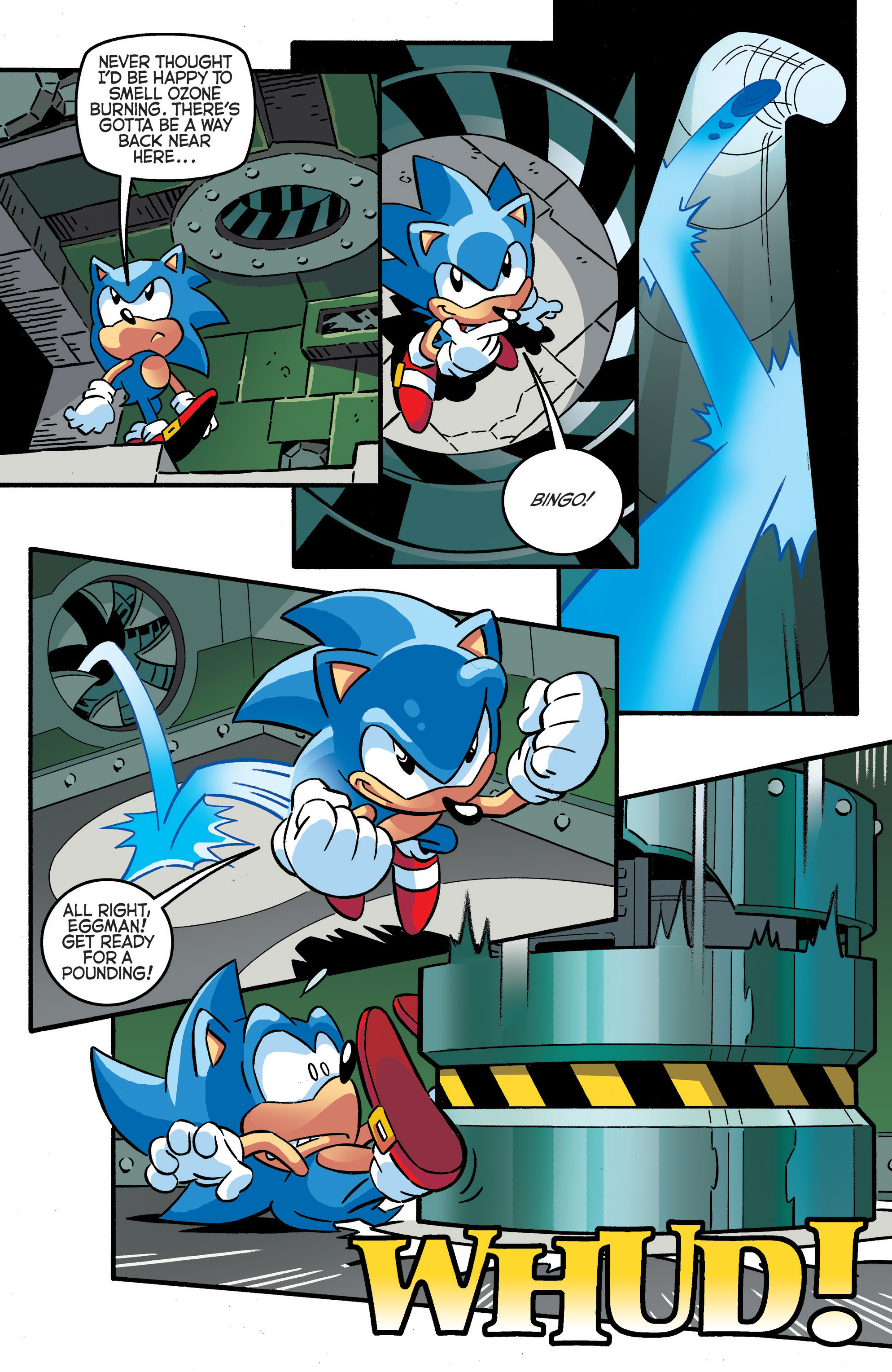 Read online Sonic The Hedgehog comic -  Issue #288 - 10