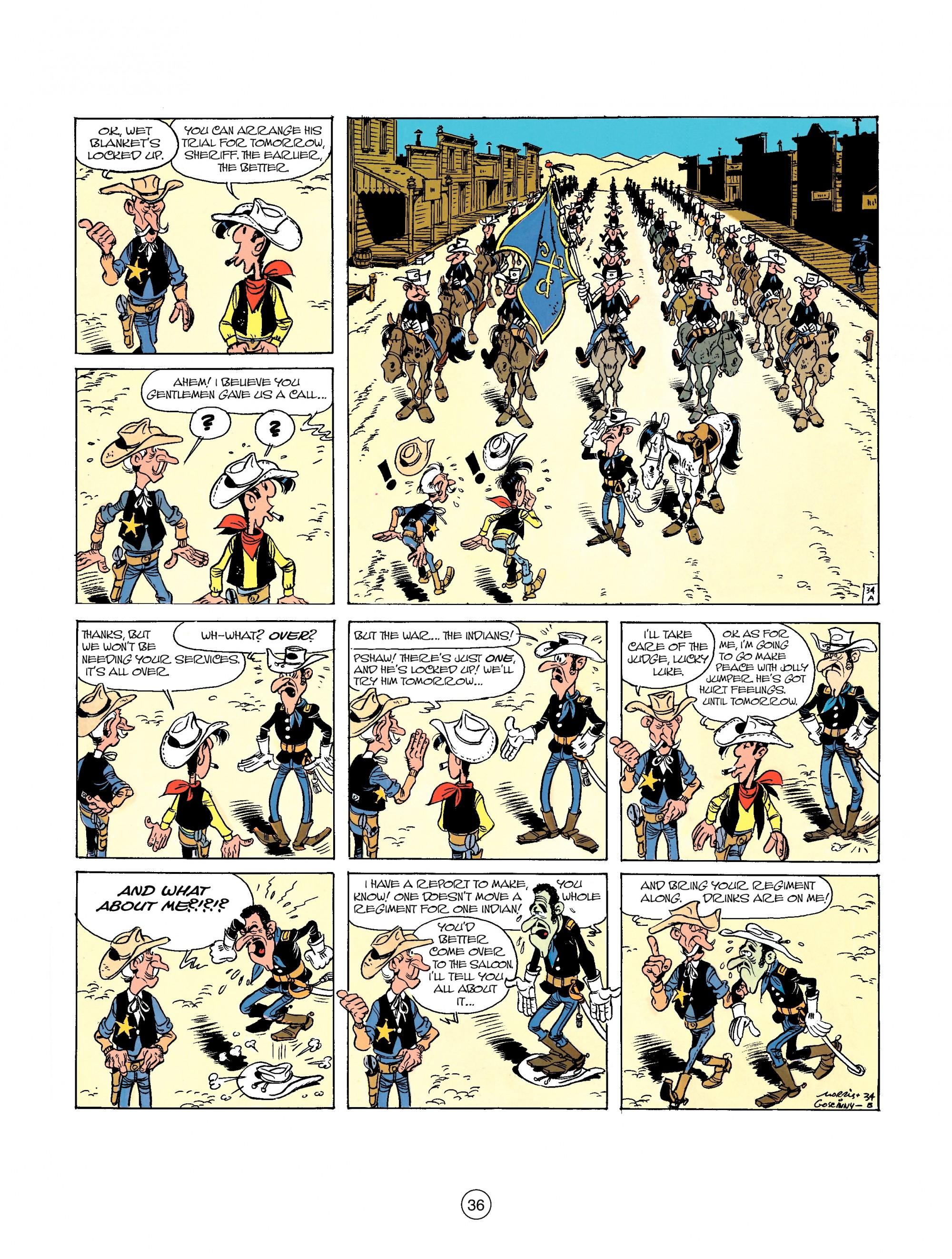 Read online A Lucky Luke Adventure comic -  Issue #26 - 36