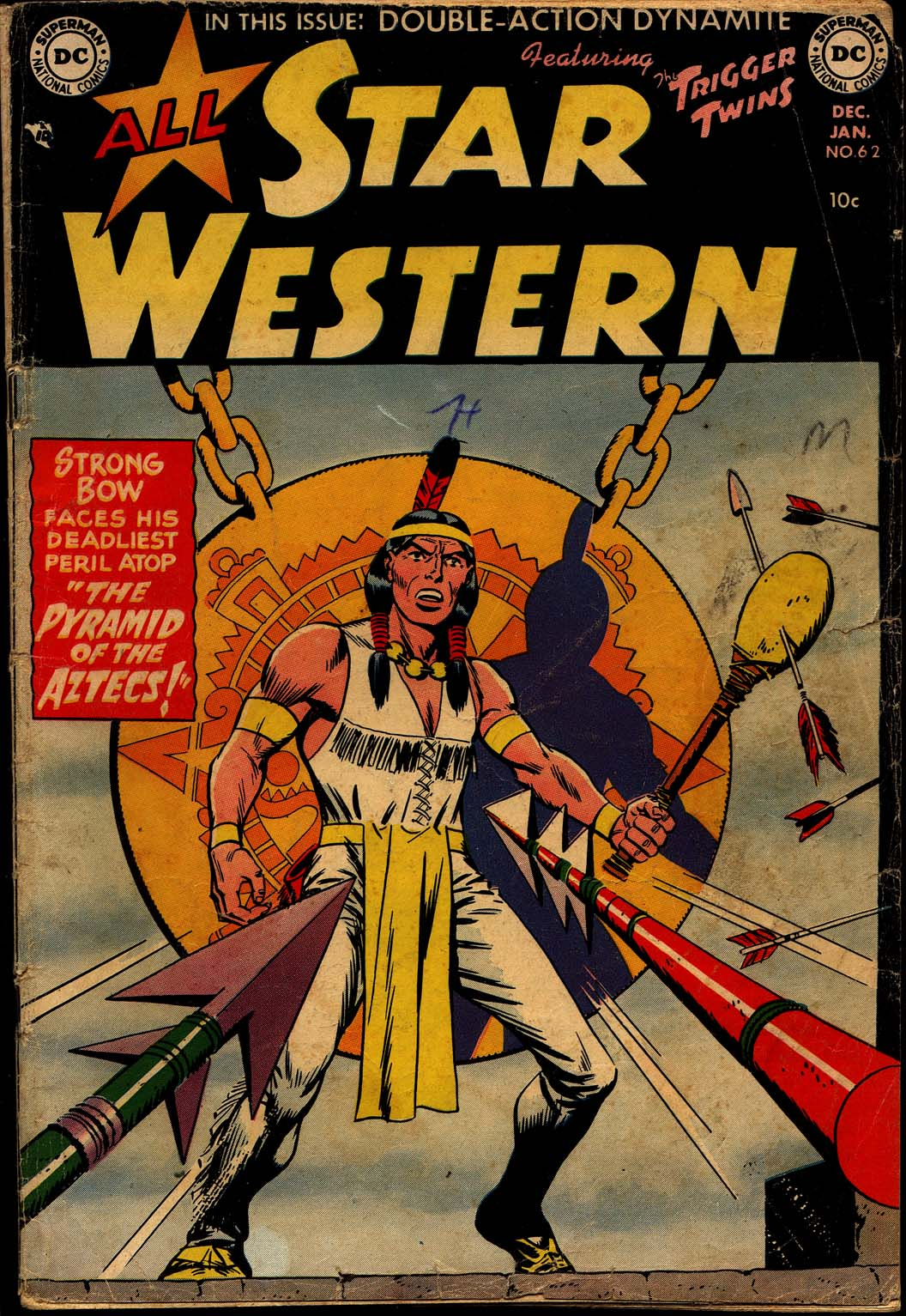 Read online All-Star Western (1951) comic -  Issue #62 - 1