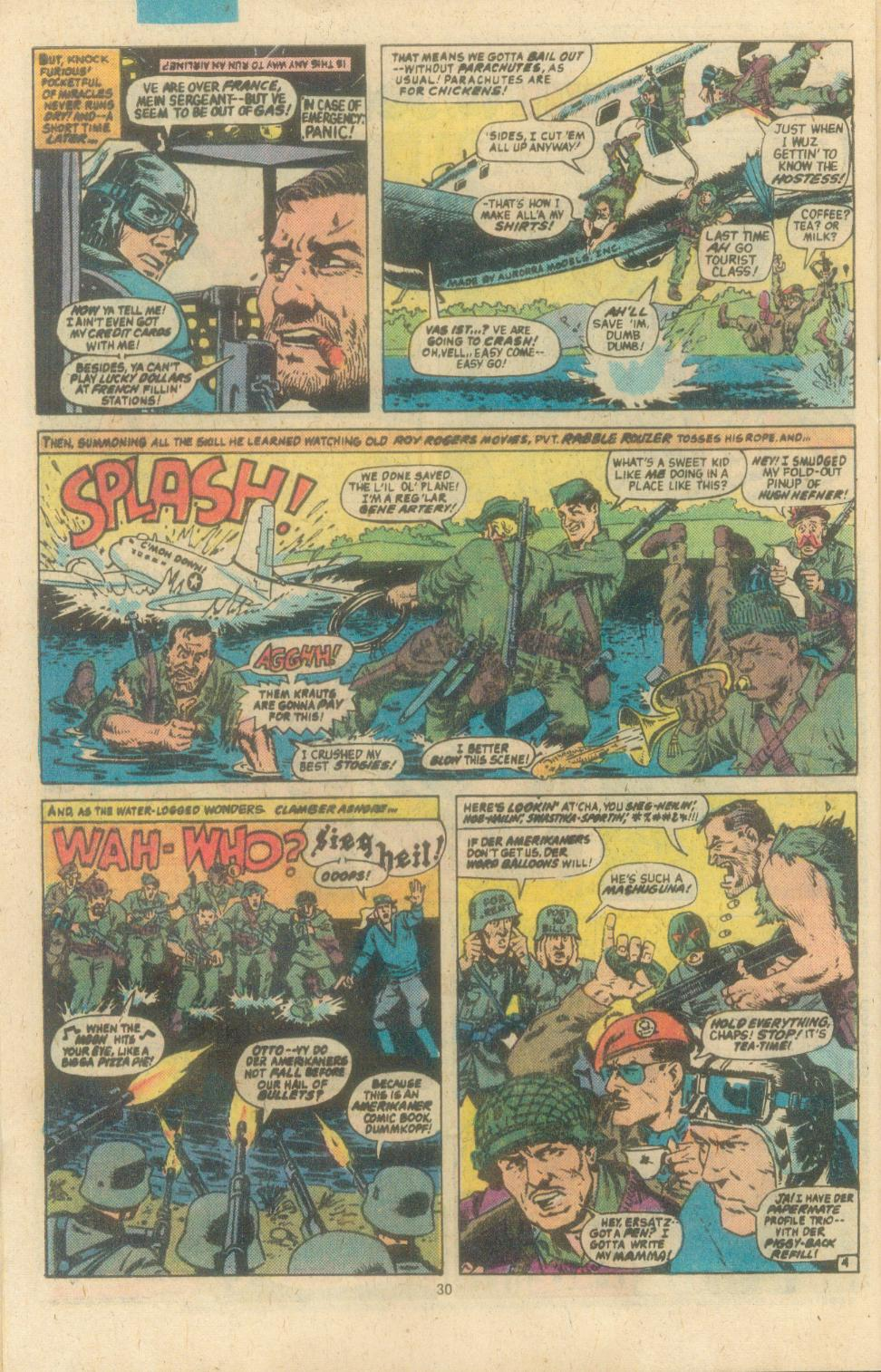 Read online Sgt. Fury comic -  Issue #162 - 32