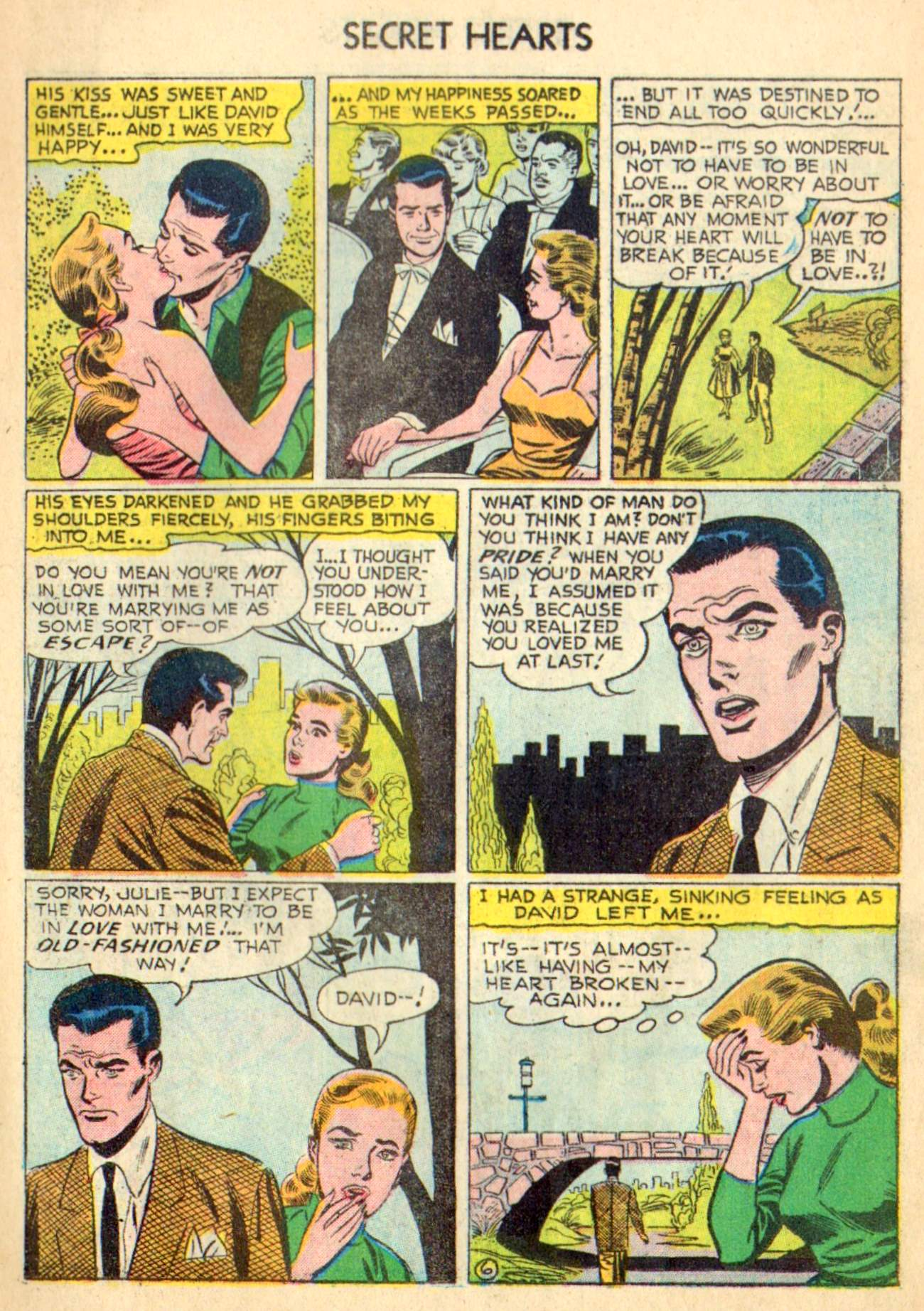 Read online Secret Hearts comic -  Issue #31 - 15