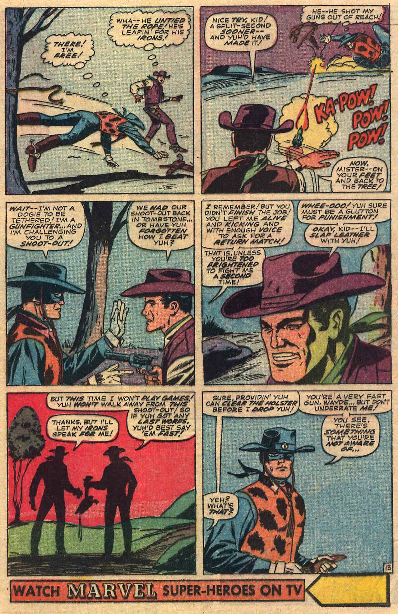 Read online Two-Gun Kid comic -  Issue #84 - 17