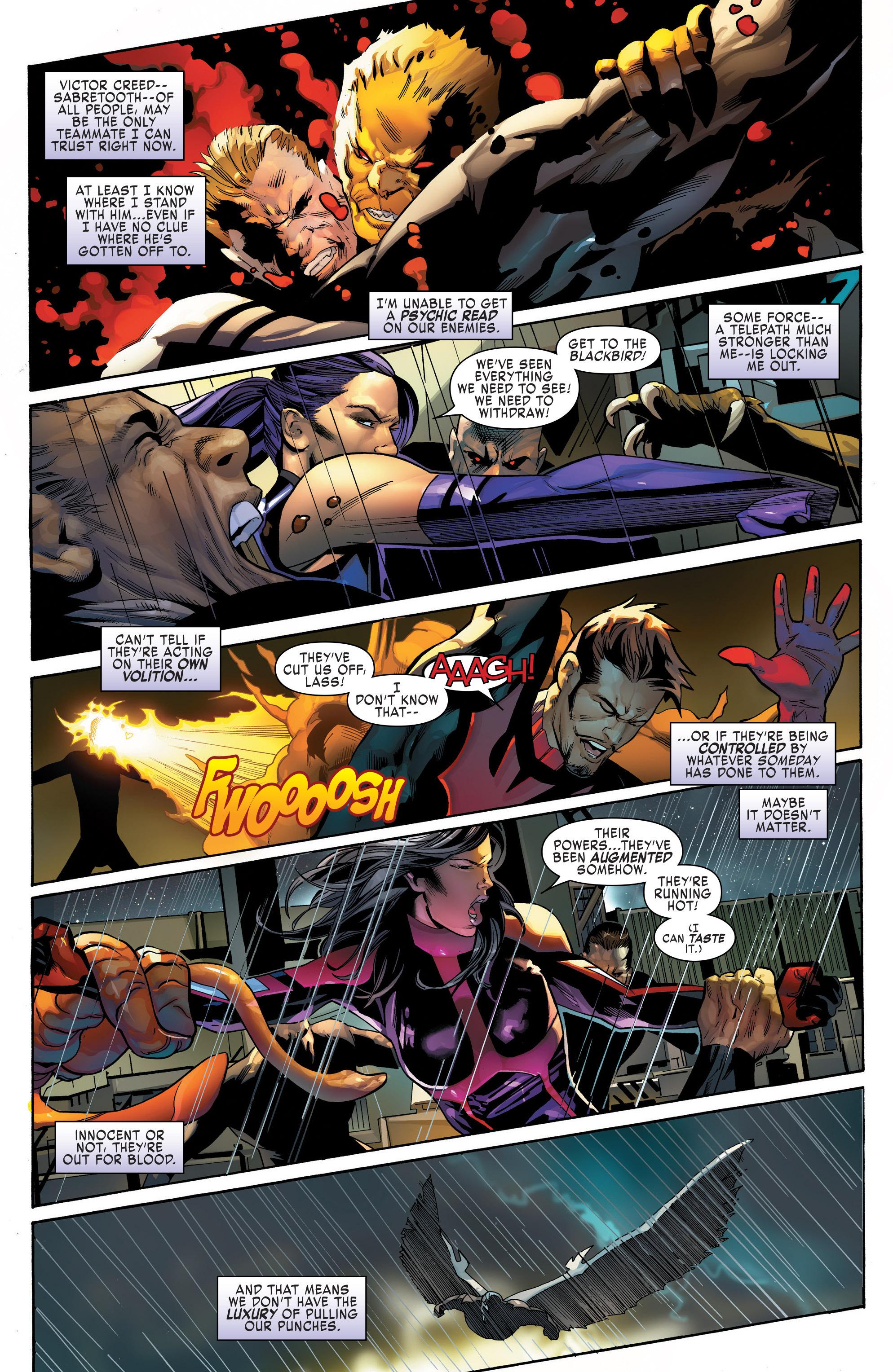 Read online Uncanny X-Men (2016) comic -  Issue #13 - 4