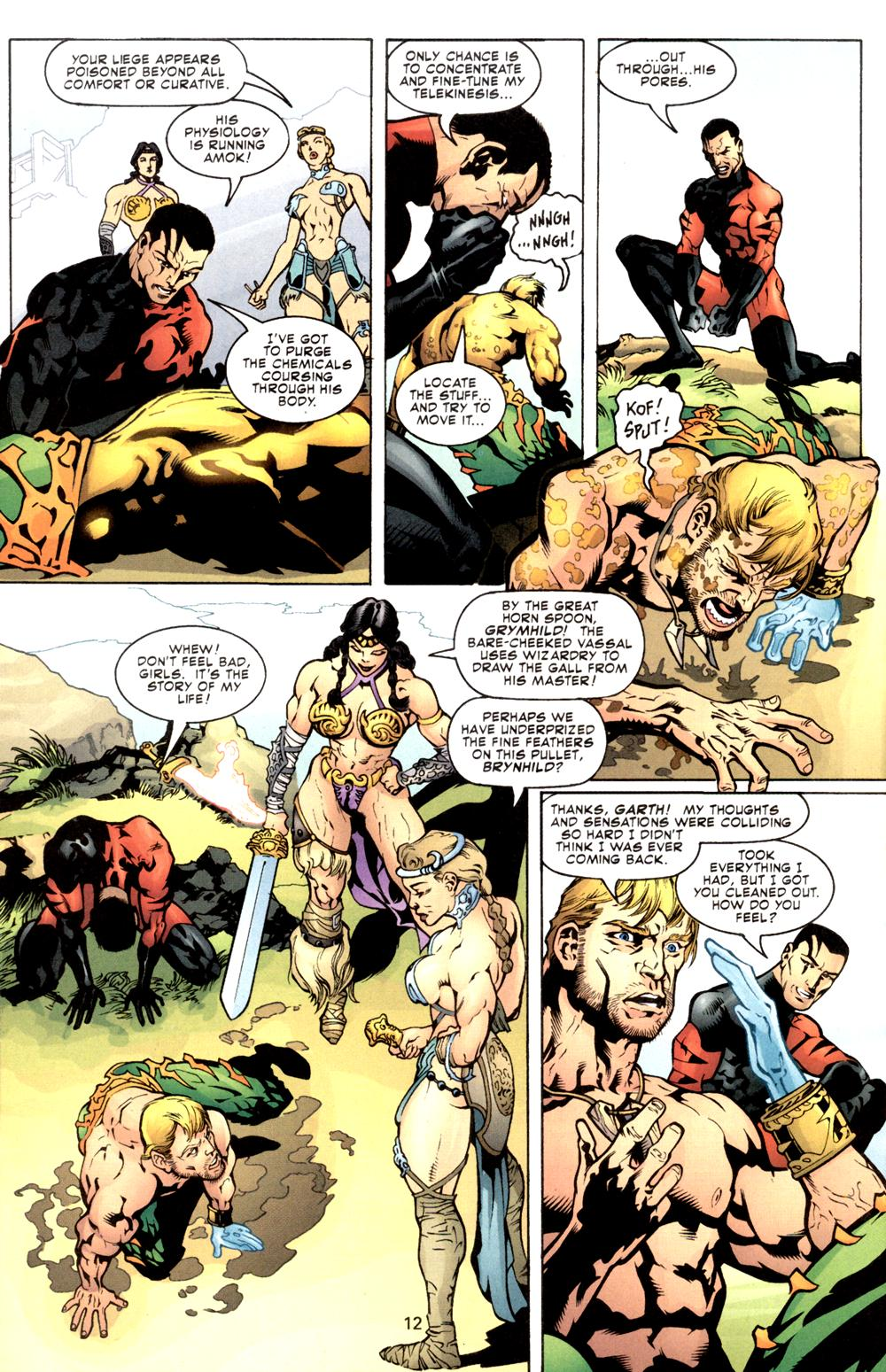 Read online Aquaman (2003) comic -  Issue #8 - 13