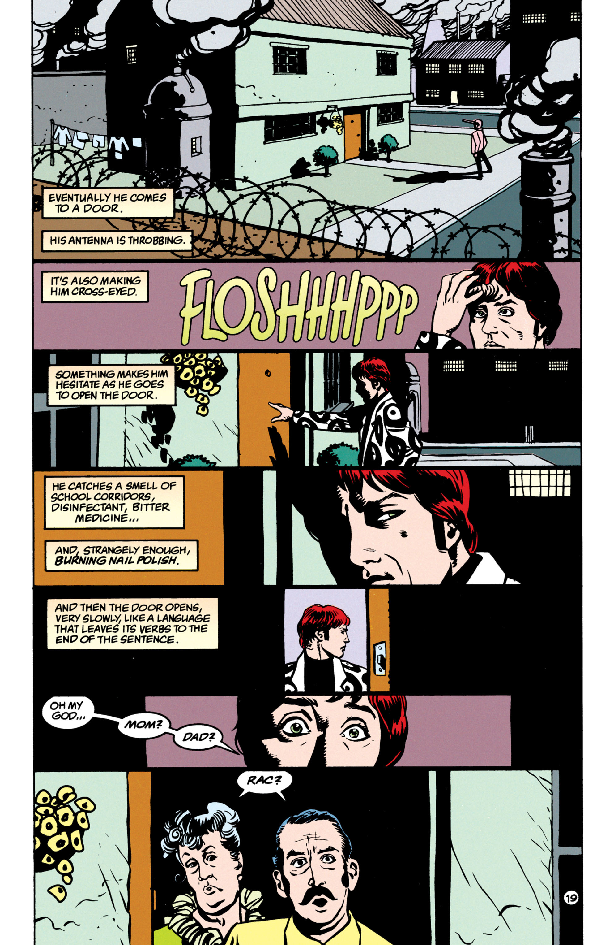Read online Shade, the Changing Man comic -  Issue #52 - 20