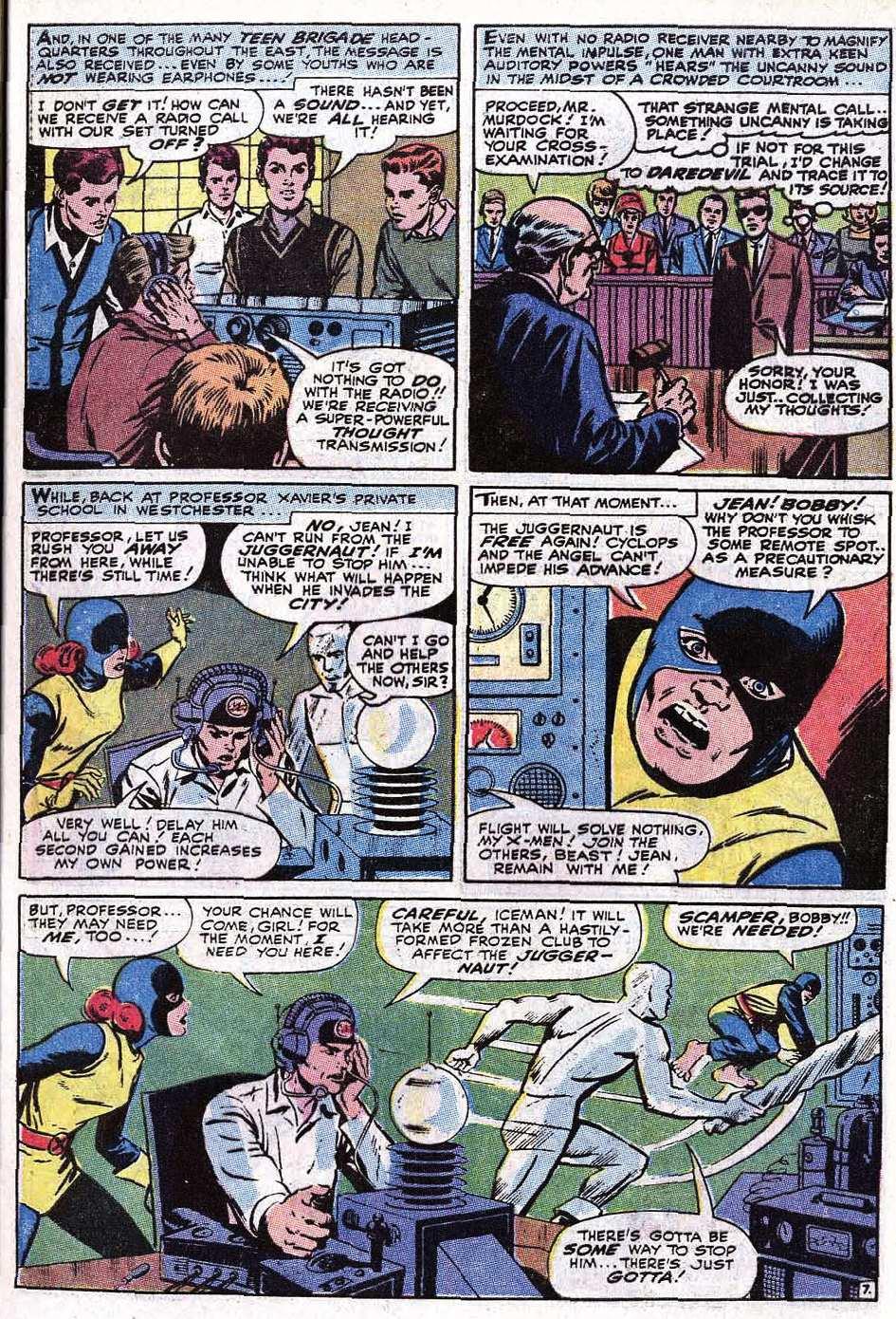 Read online Uncanny X-Men (1963) comic -  Issue #67 - 33