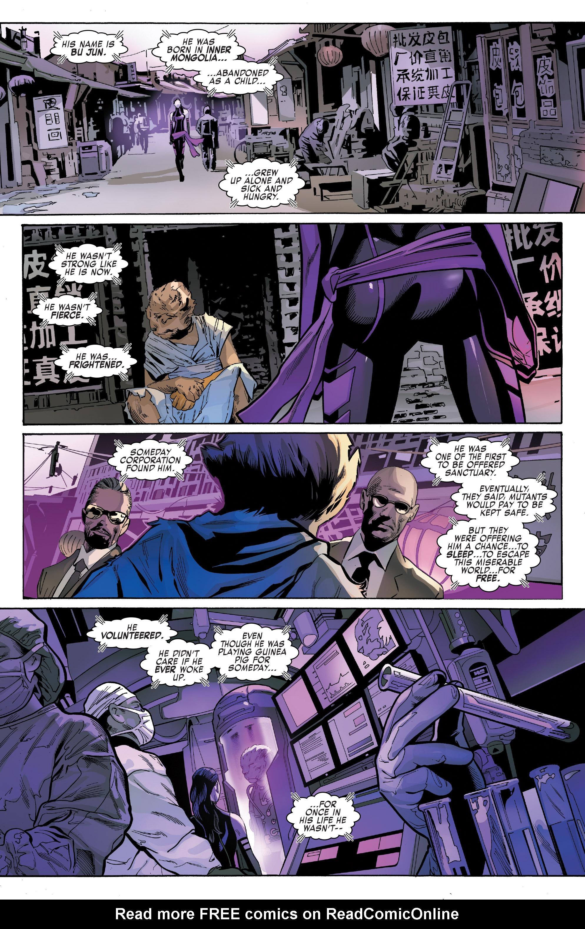 Read online Uncanny X-Men (2016) comic -  Issue #13 - 13
