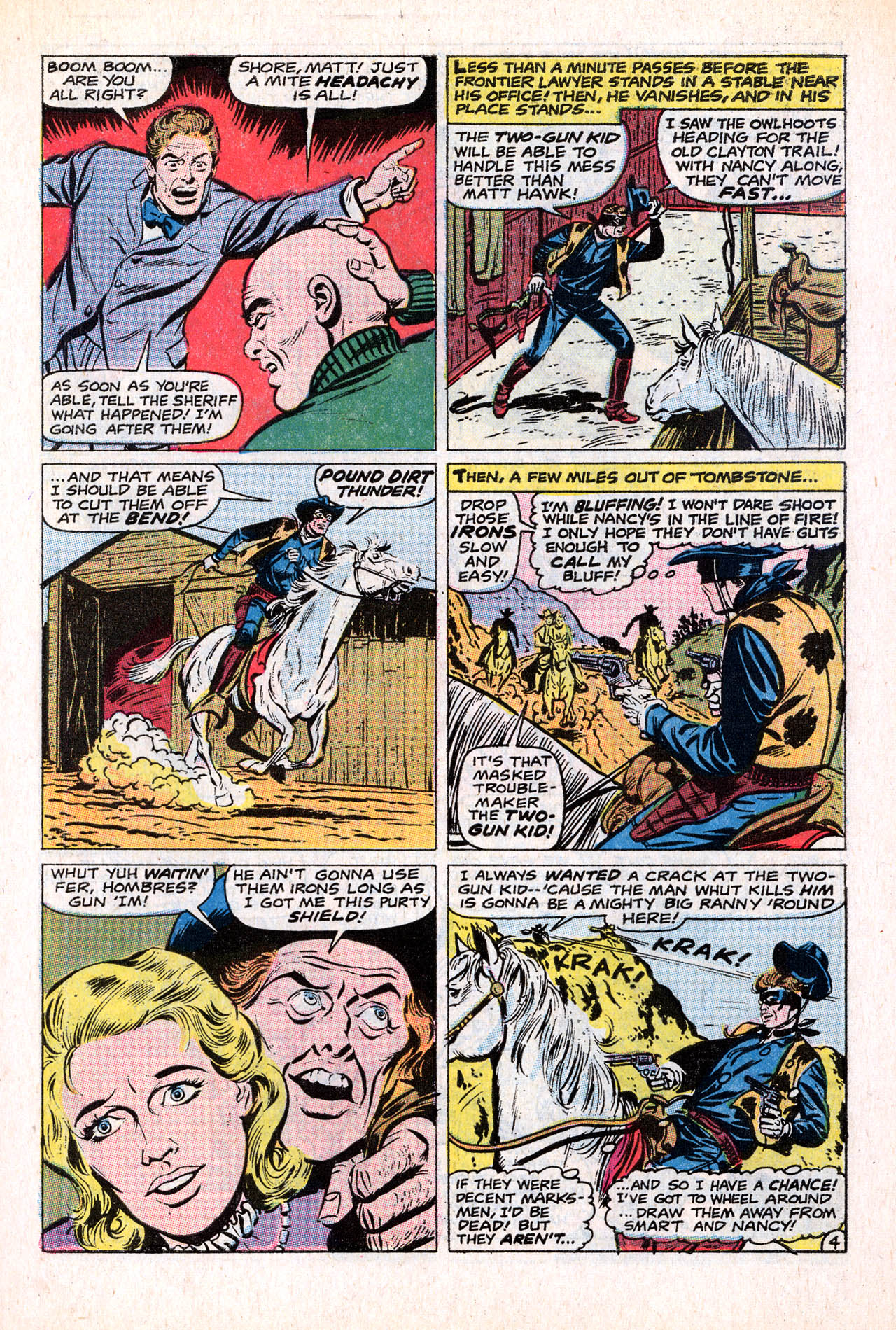 Read online Two-Gun Kid comic -  Issue #98 - 7