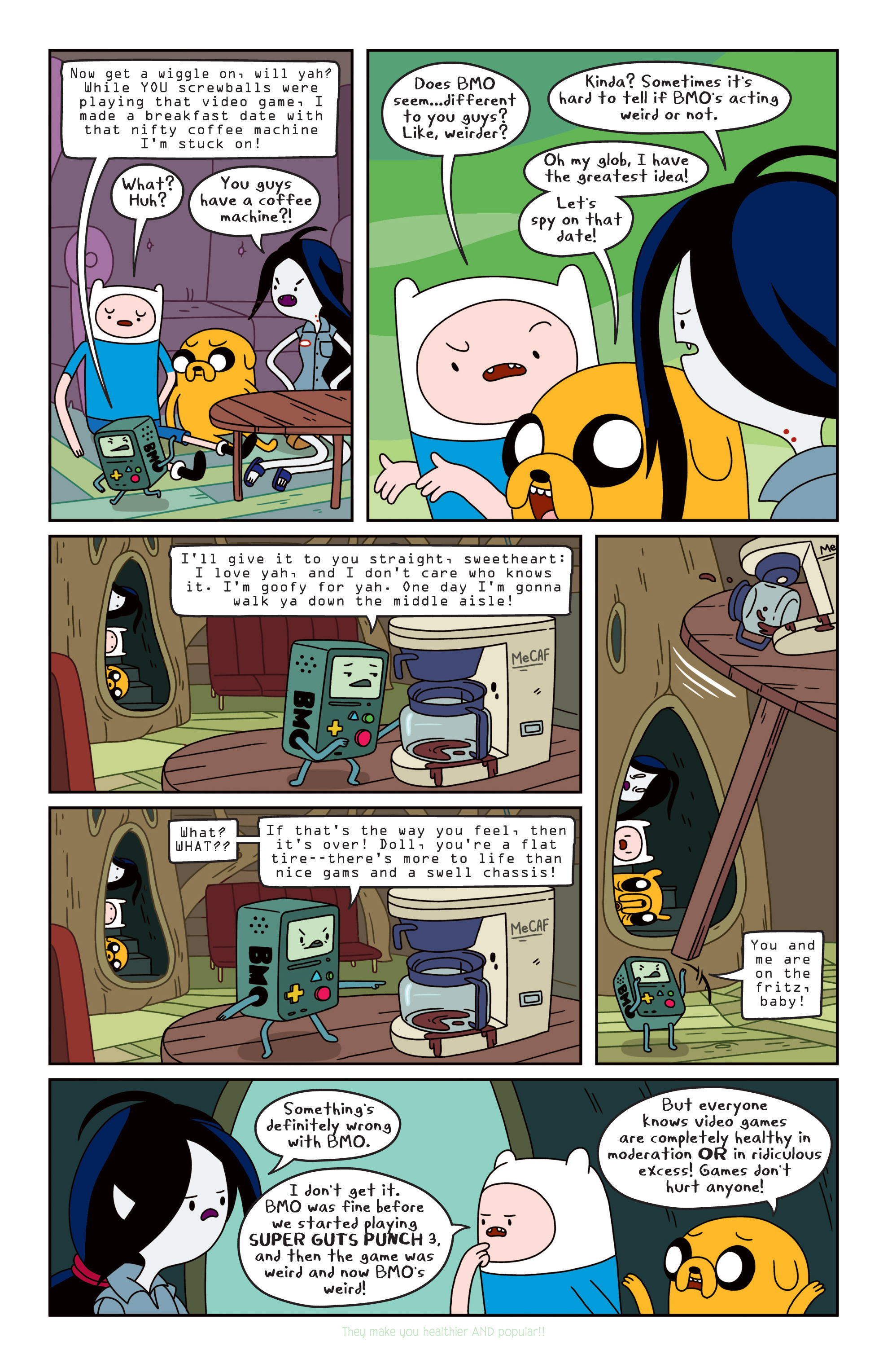 Read online Adventure Time comic -  Issue #11 - 20