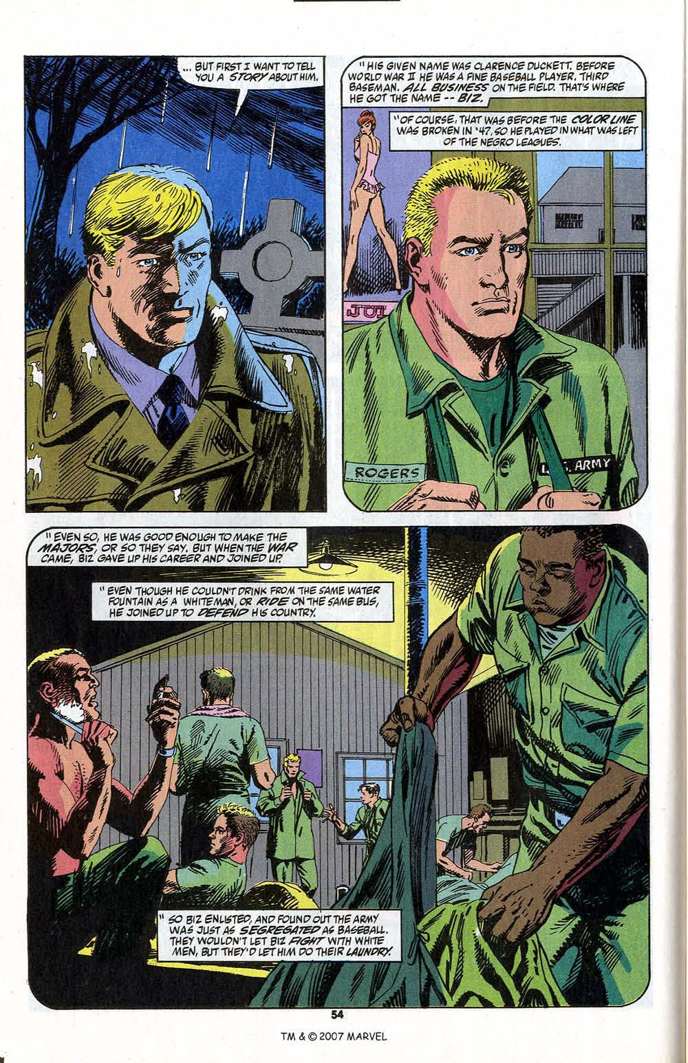 Read online Captain America (1968) comic -  Issue # _Annual 13 - 56