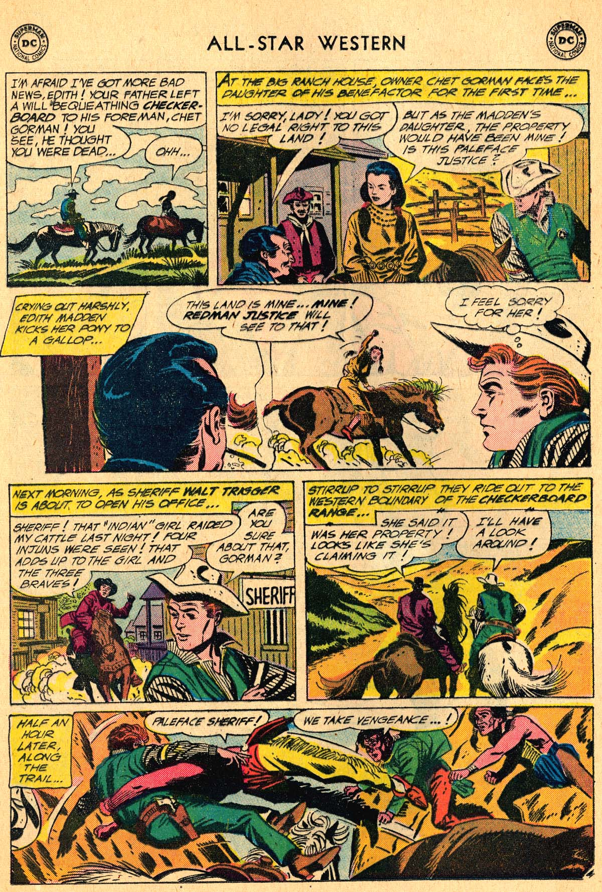 Read online All-Star Western (1951) comic -  Issue #115 - 28