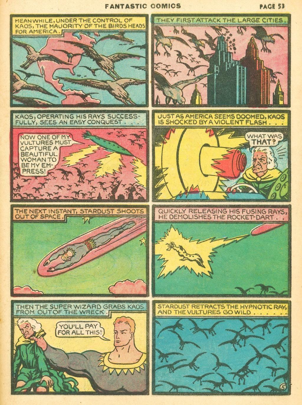 Read online Fantastic Comics comic -  Issue #12 - 55