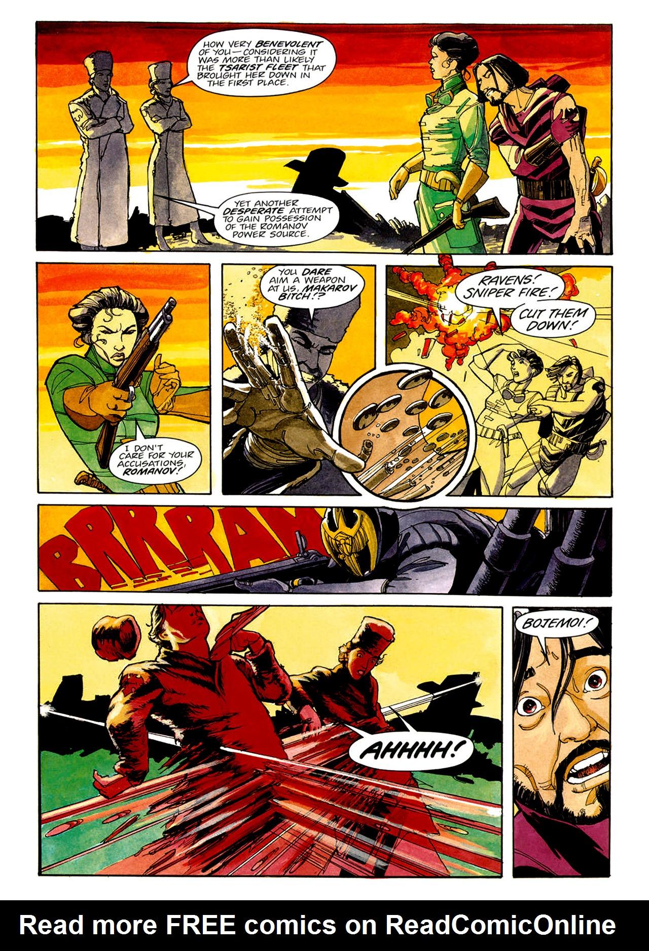 Read online Nikolai Dante comic -  Issue # TPB 1 - 27
