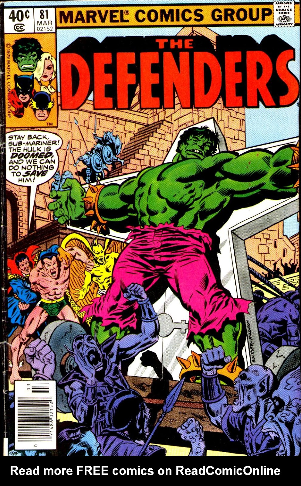 The Defenders (1972) issue 81 - Page 1