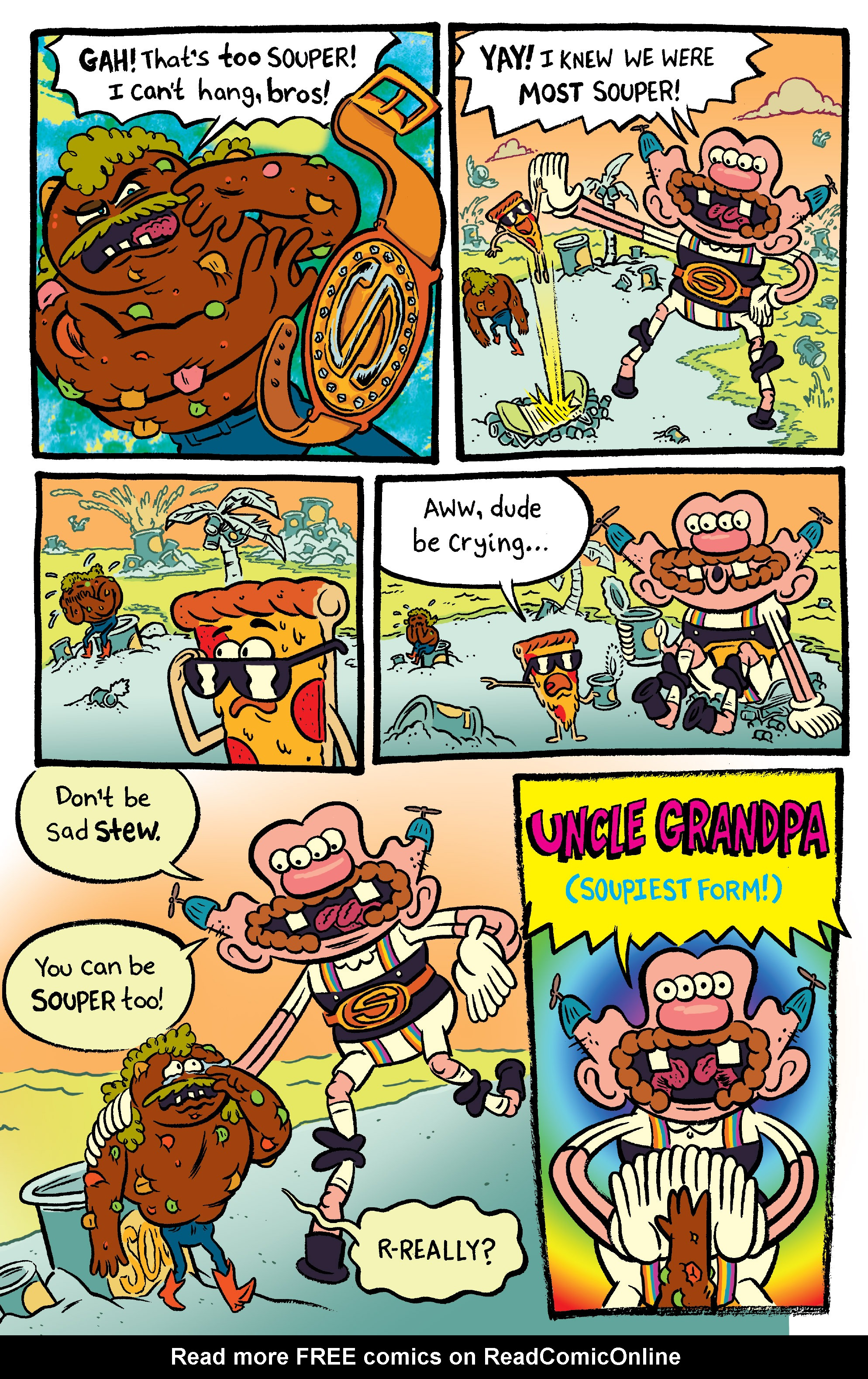 Read online Uncle Grandpa comic -  Issue #2 - 19