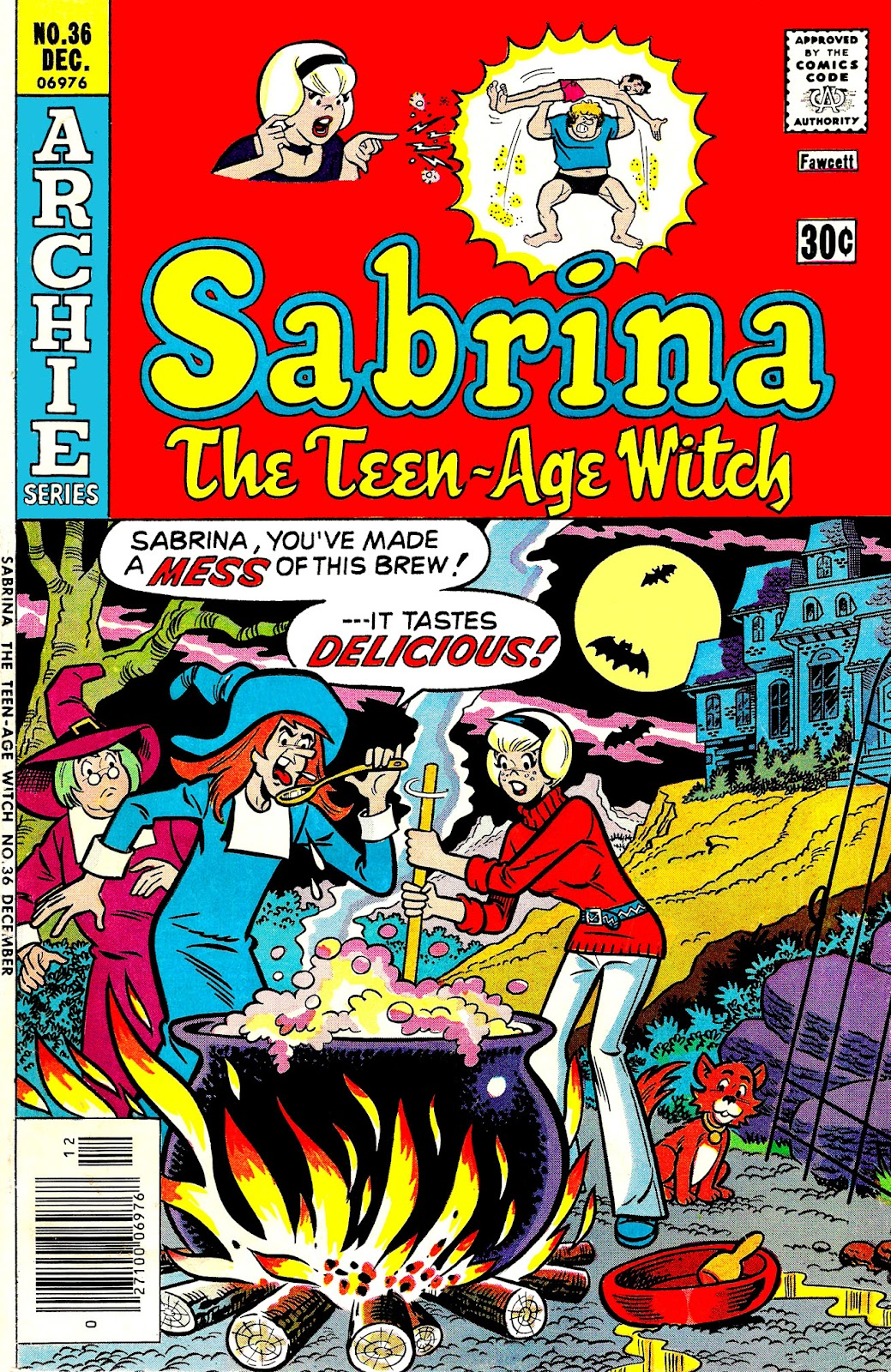 Sabrina The Teenage Witch (1971) issue 36 - Page 1