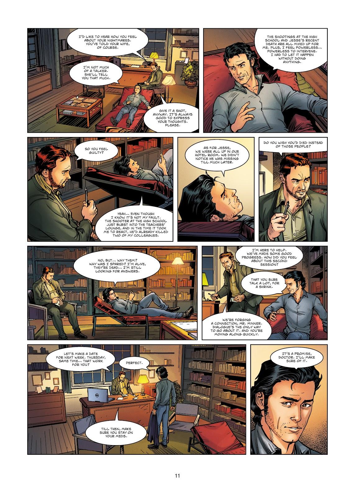 Read online Vigilantes comic -  Issue #4 - 11