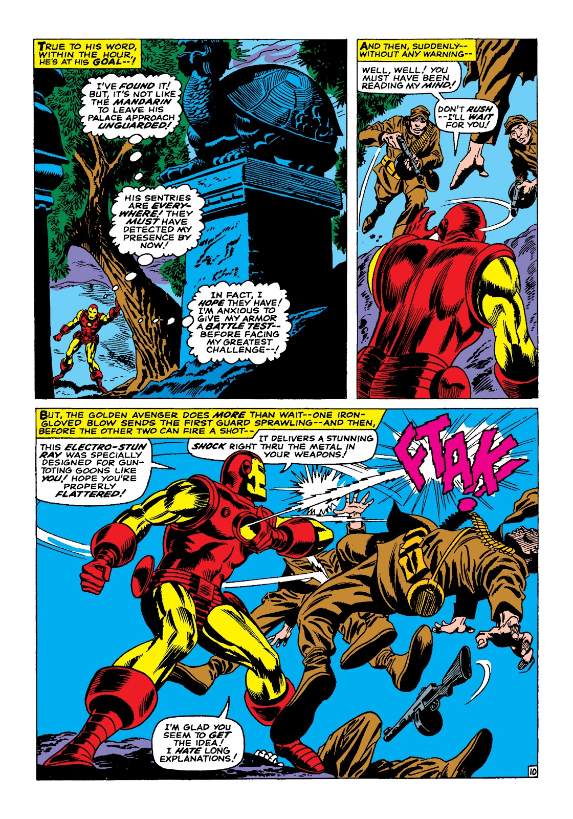 Read online Marvel Masterworks: The Invincible Iron Man comic -  Issue # TPB 4 (Part 1) - 29