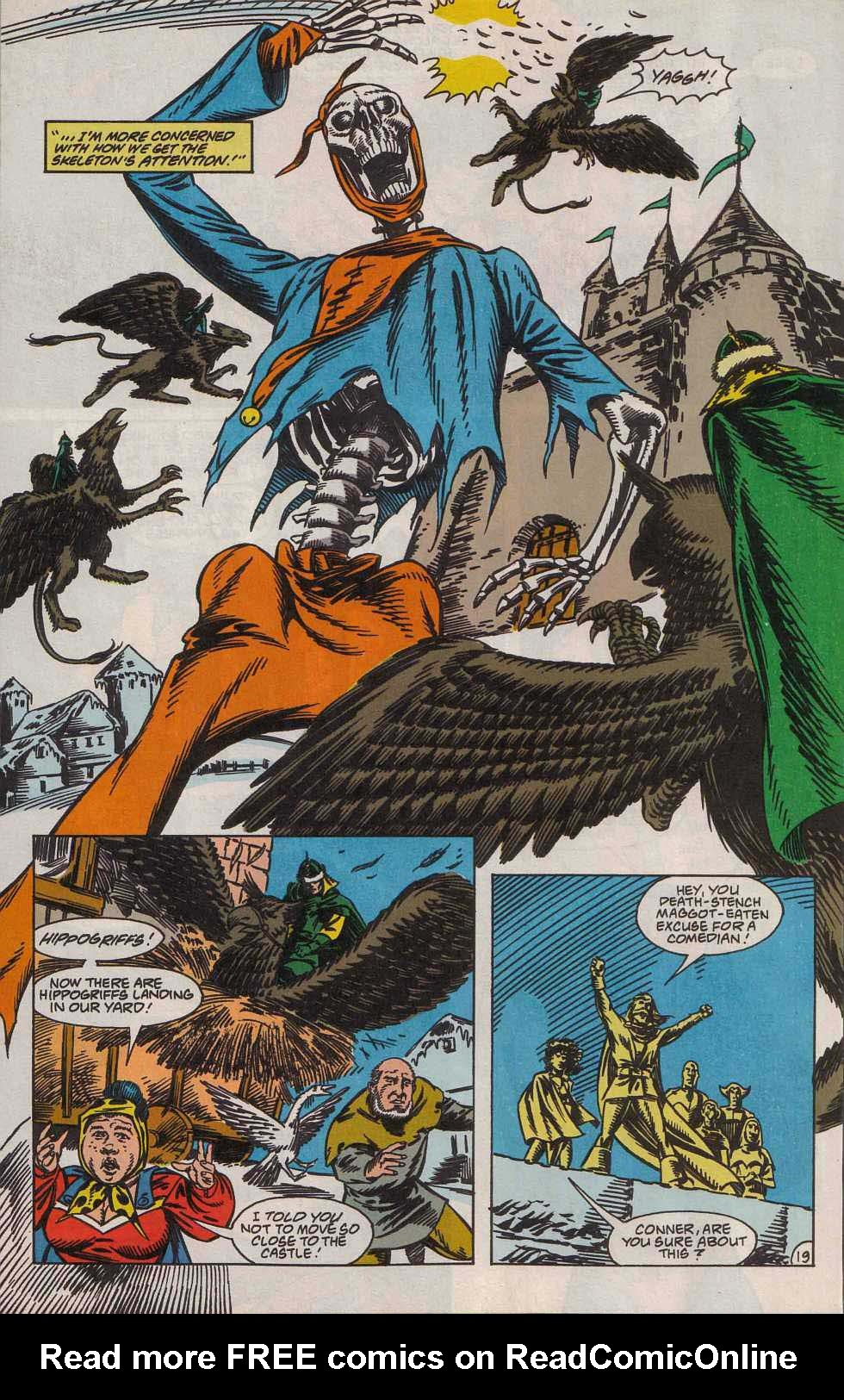 Read online Advanced Dungeons & Dragons comic -  Issue #7 - 20