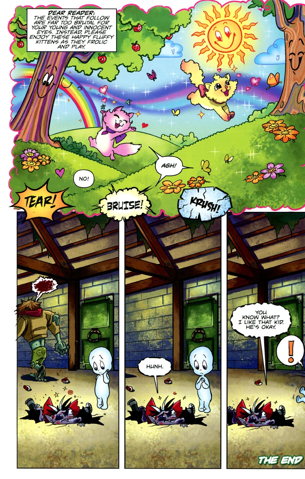Read online Casper's Scare School comic -  Issue #1 - 22