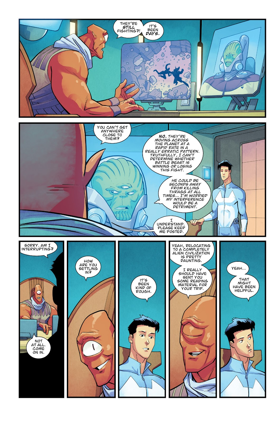 Invincible (2003) issue TPB 21 - Modern Family - Page 99