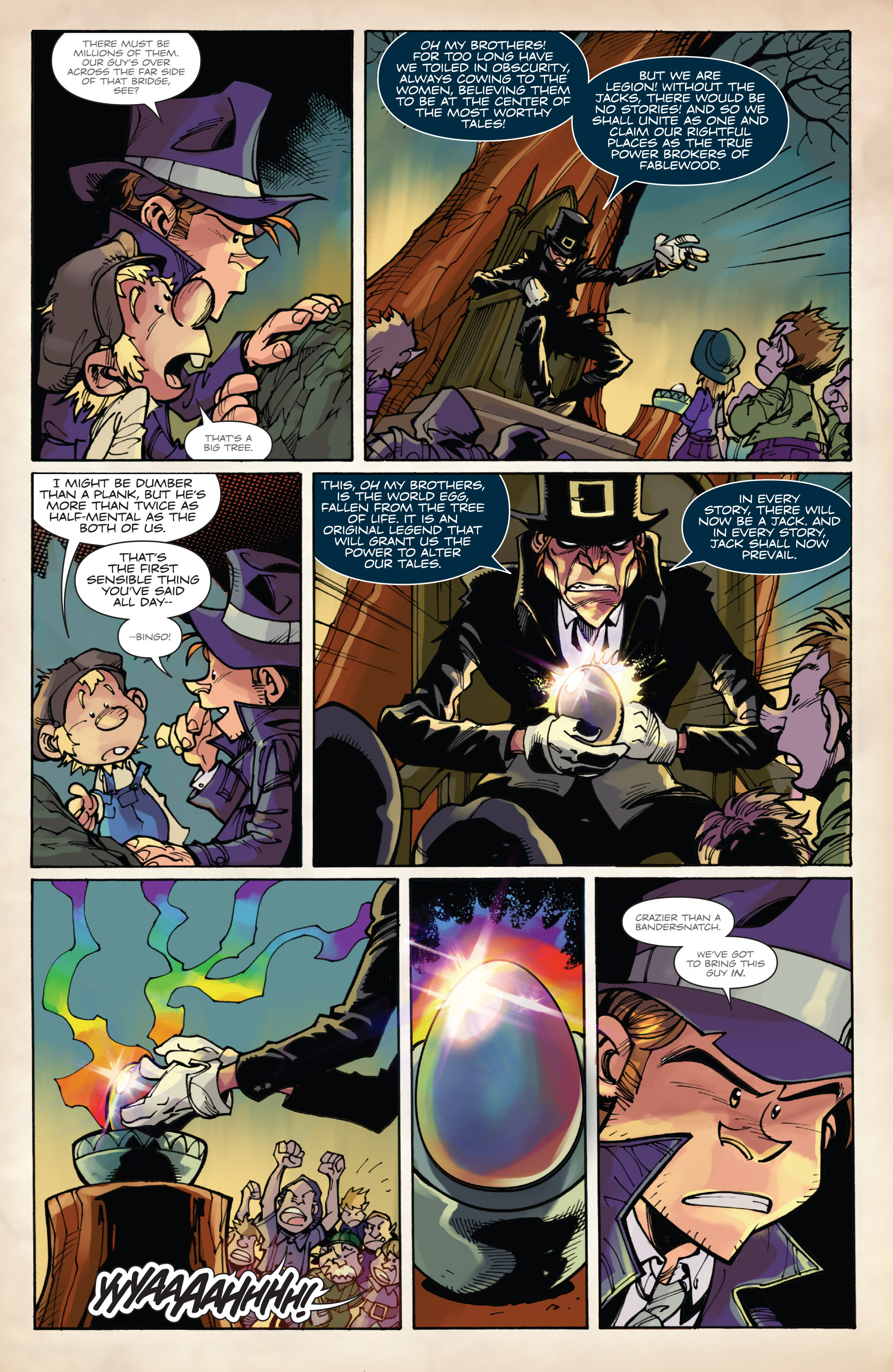Read online Fiction Squad comic -  Issue #6 - 14