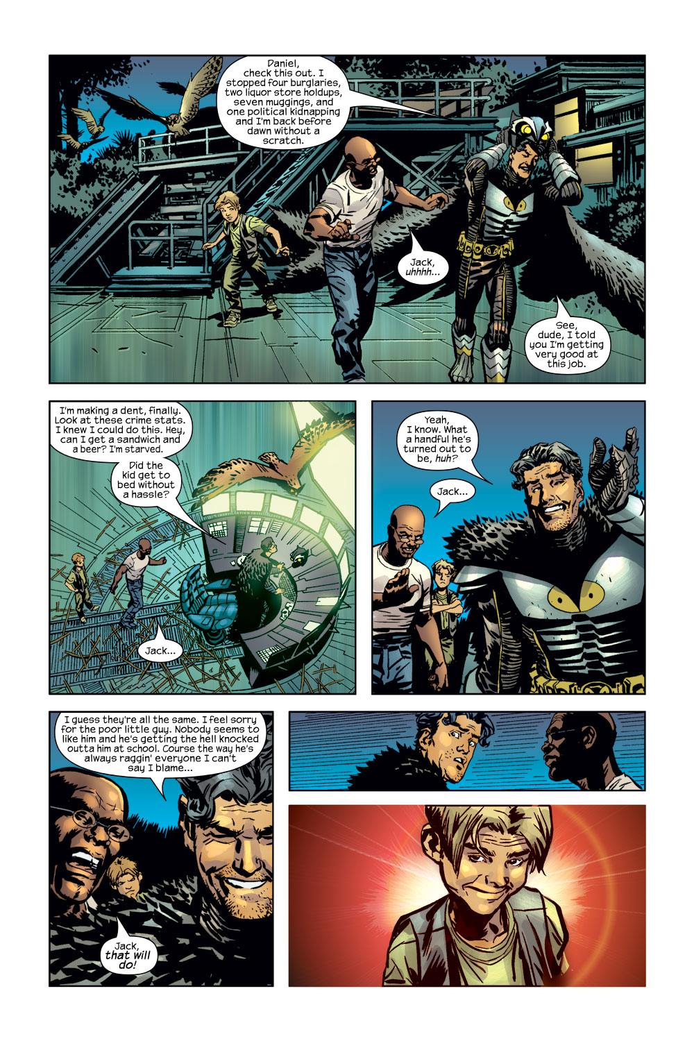 Read online Ultimate Adventures comic -  Issue #3 - 8