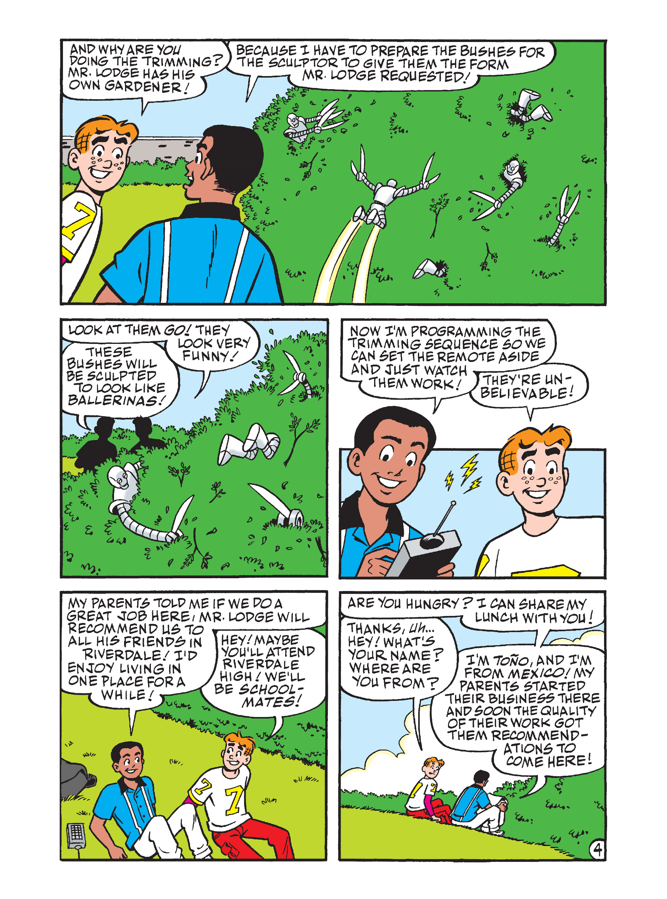 Read online Archie's Funhouse Double Digest comic -  Issue #7 - 83