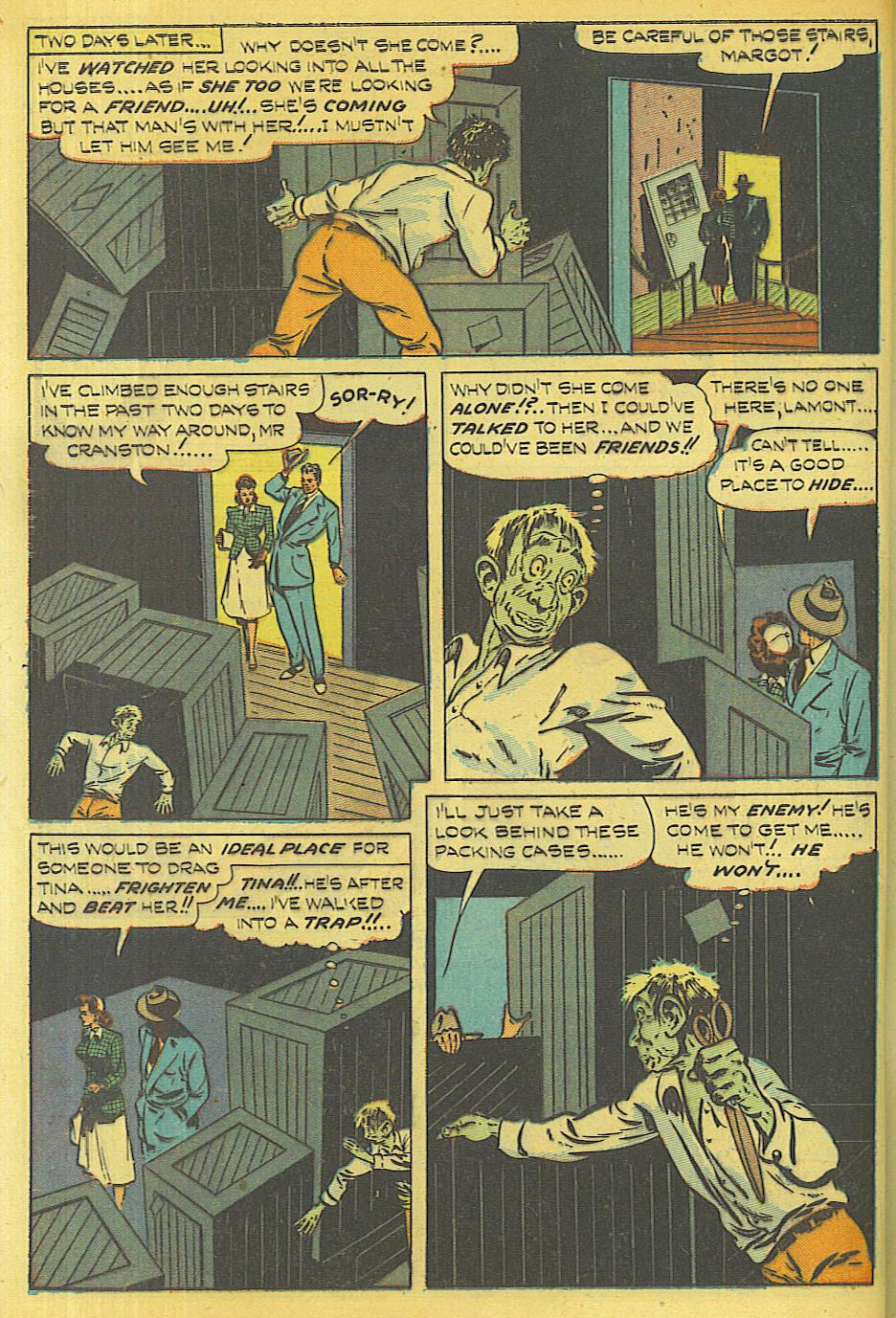 Read online Shadow Comics comic -  Issue #87 - 7