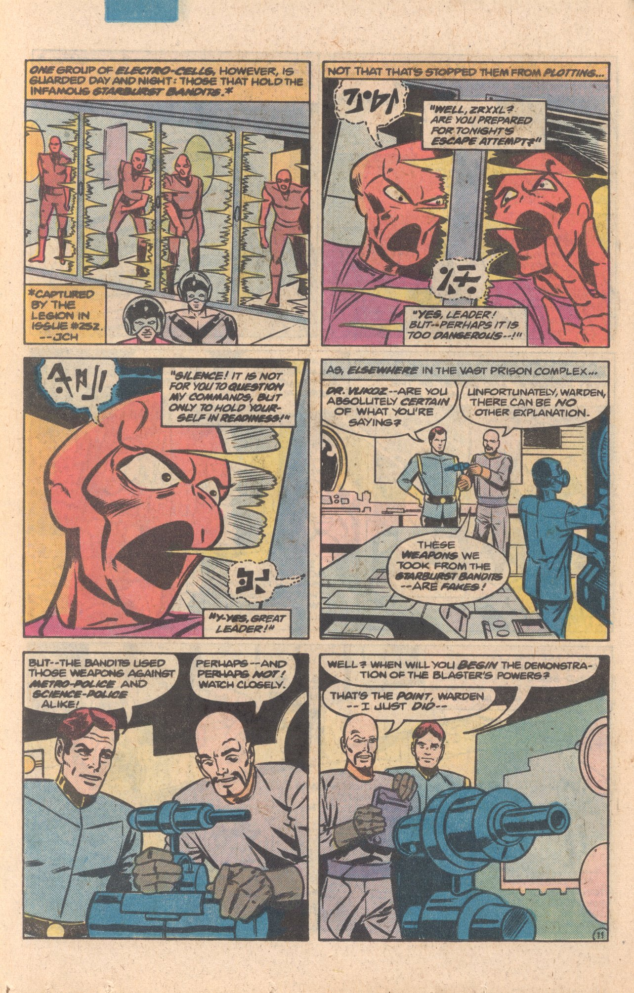 Legion of Super-Heroes (1980) 272 Page 11