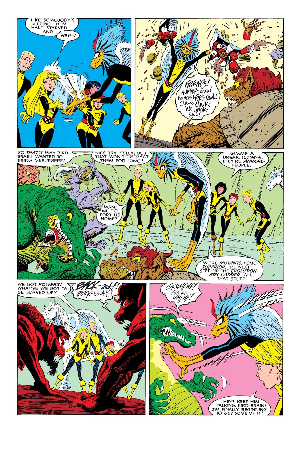 Read online X-Men Milestones: Fall of the Mutants comic -  Issue # TPB (Part 1) - 99